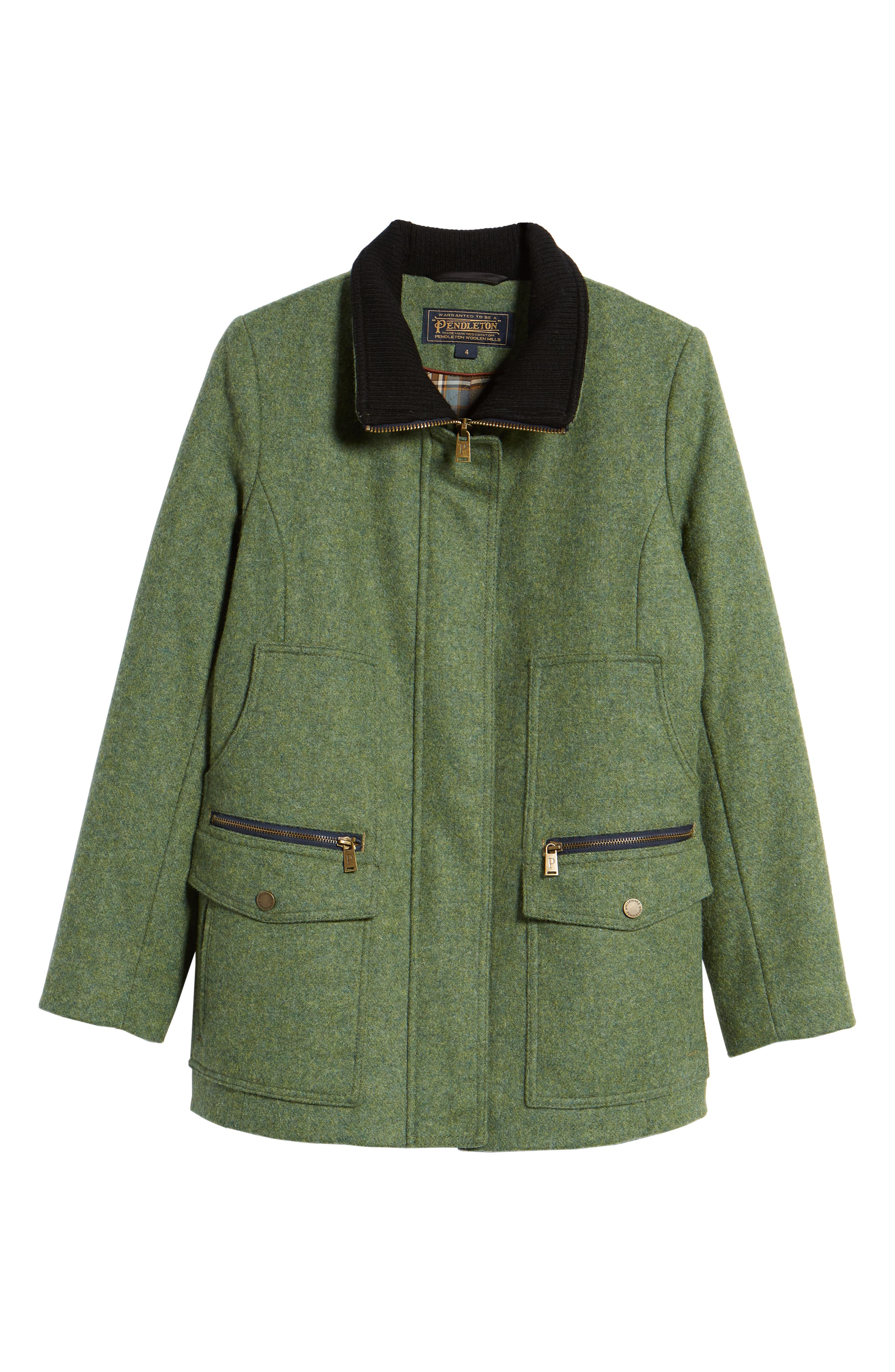 Timberline Field Coat,                             Alternate thumbnail 7, color,                             Moss