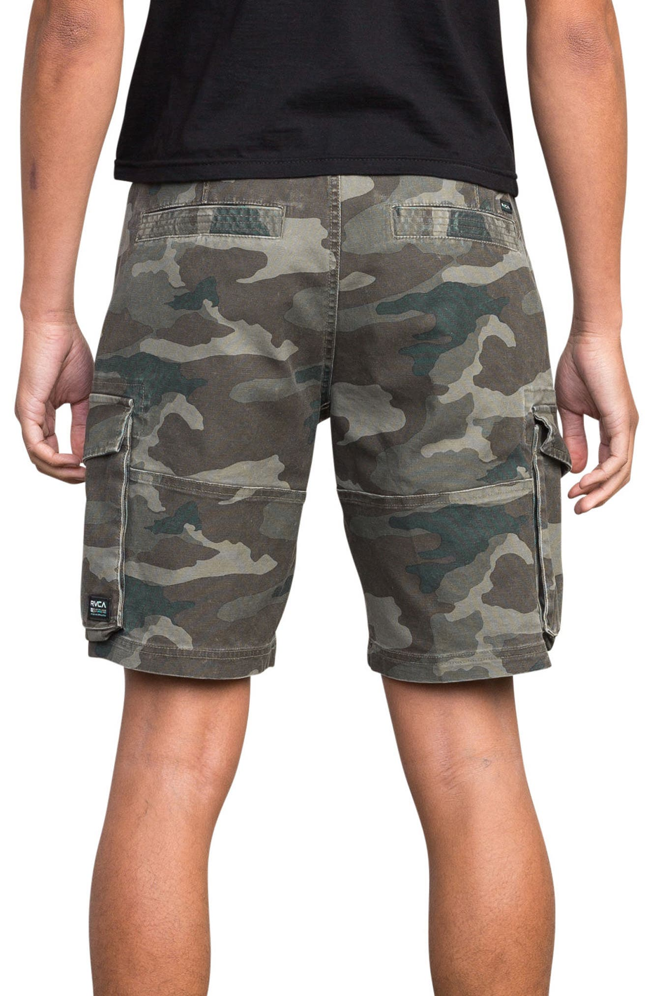 Wannabe Cargo Shorts,                             Alternate thumbnail 2, color,                             Camo