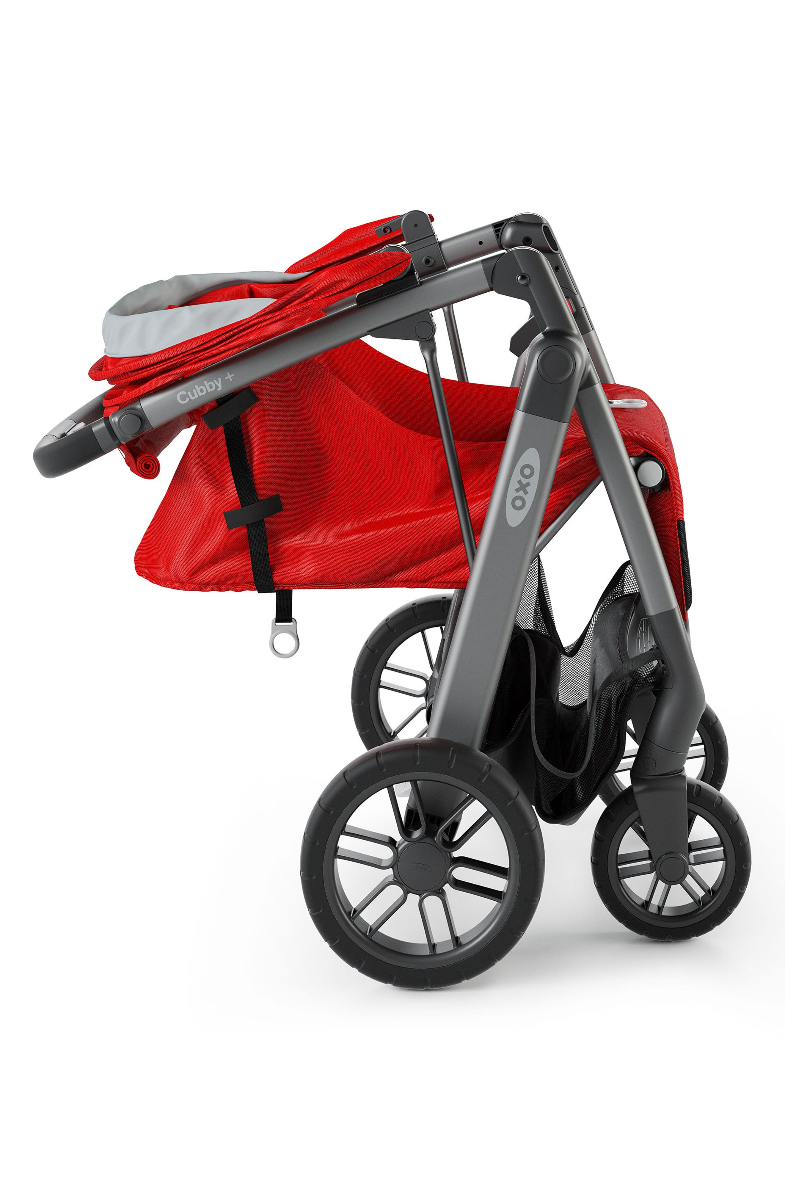 Cubby+ Stroller,                             Alternate thumbnail 5, color,                             Red
