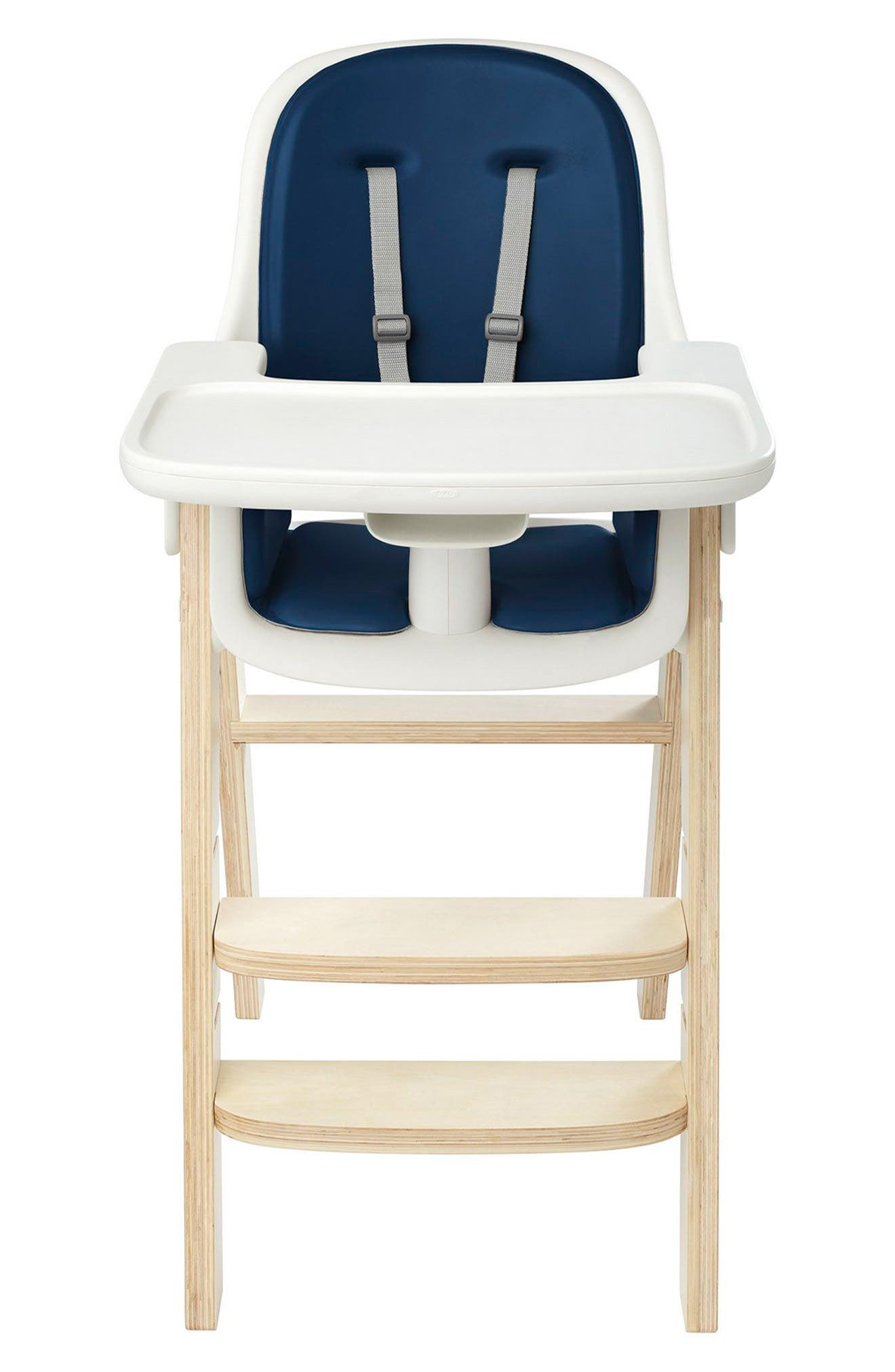 'Sprout' Chair,                             Main thumbnail 1, color,                             Navy/ Birch