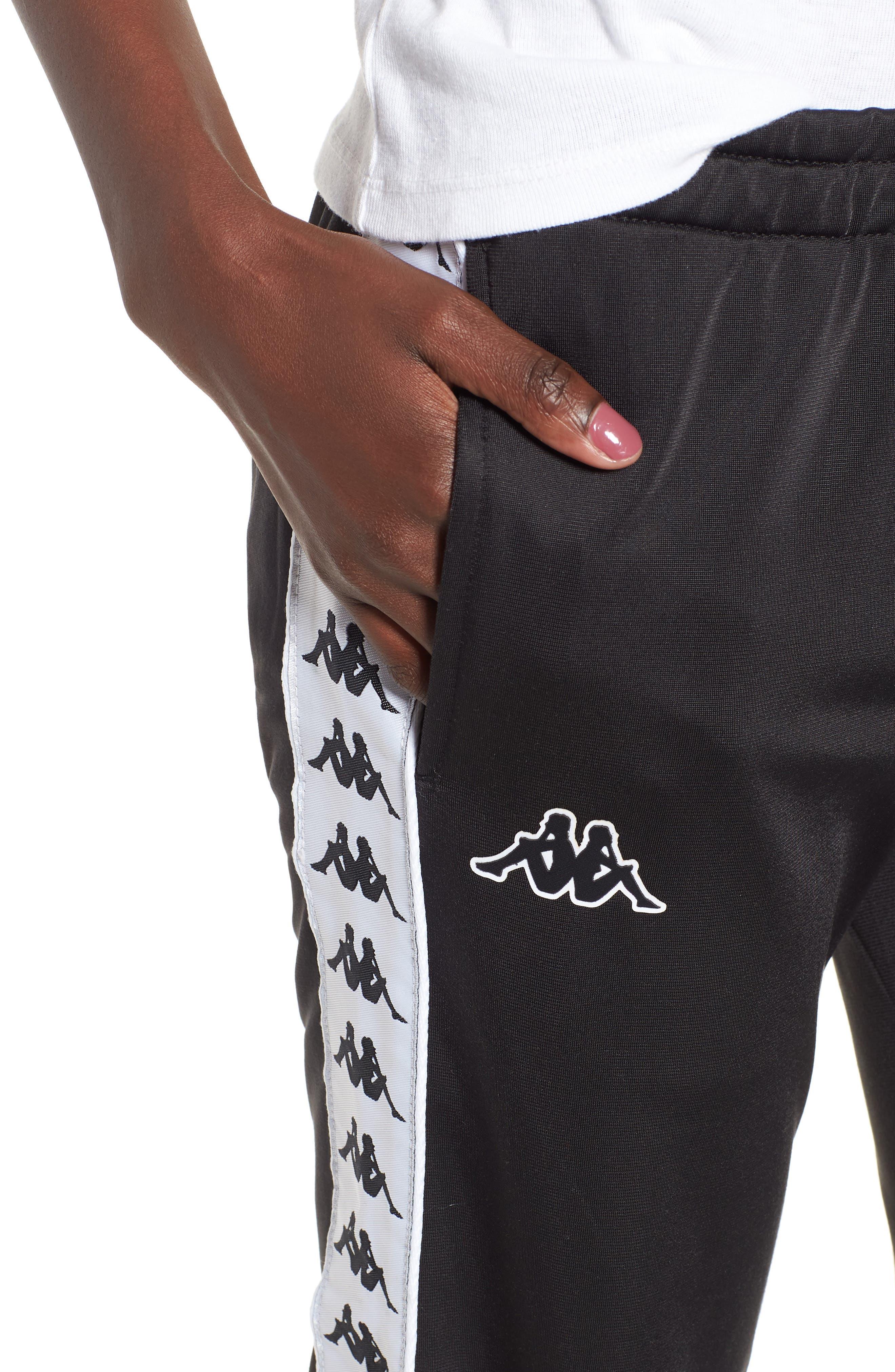 Banda Pants,                             Alternate thumbnail 4, color,                             Black/ White