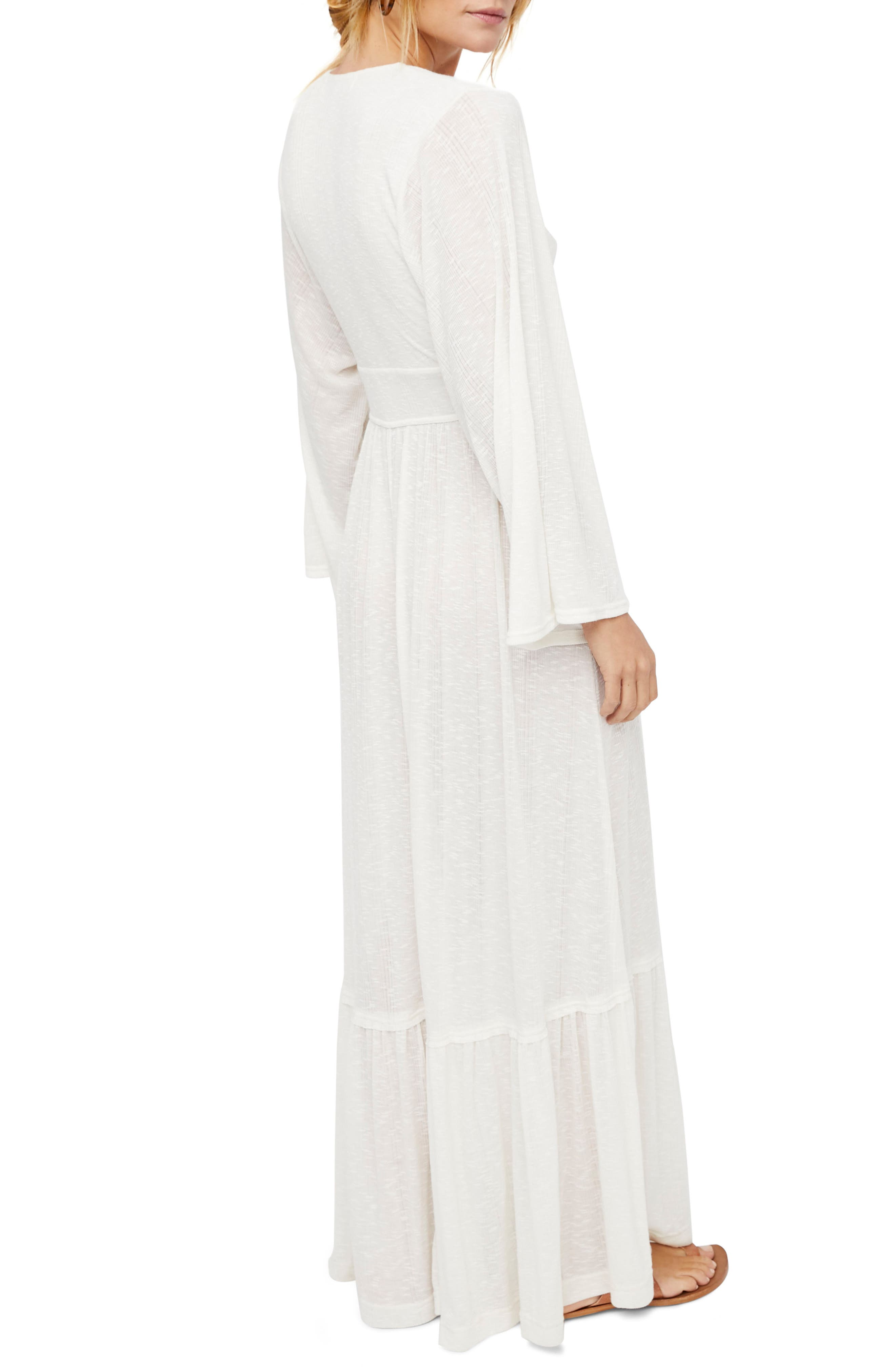 Endless Summer by Free People Moon Walking Maxi Dress,                             Alternate thumbnail 2, color,                             Ivory