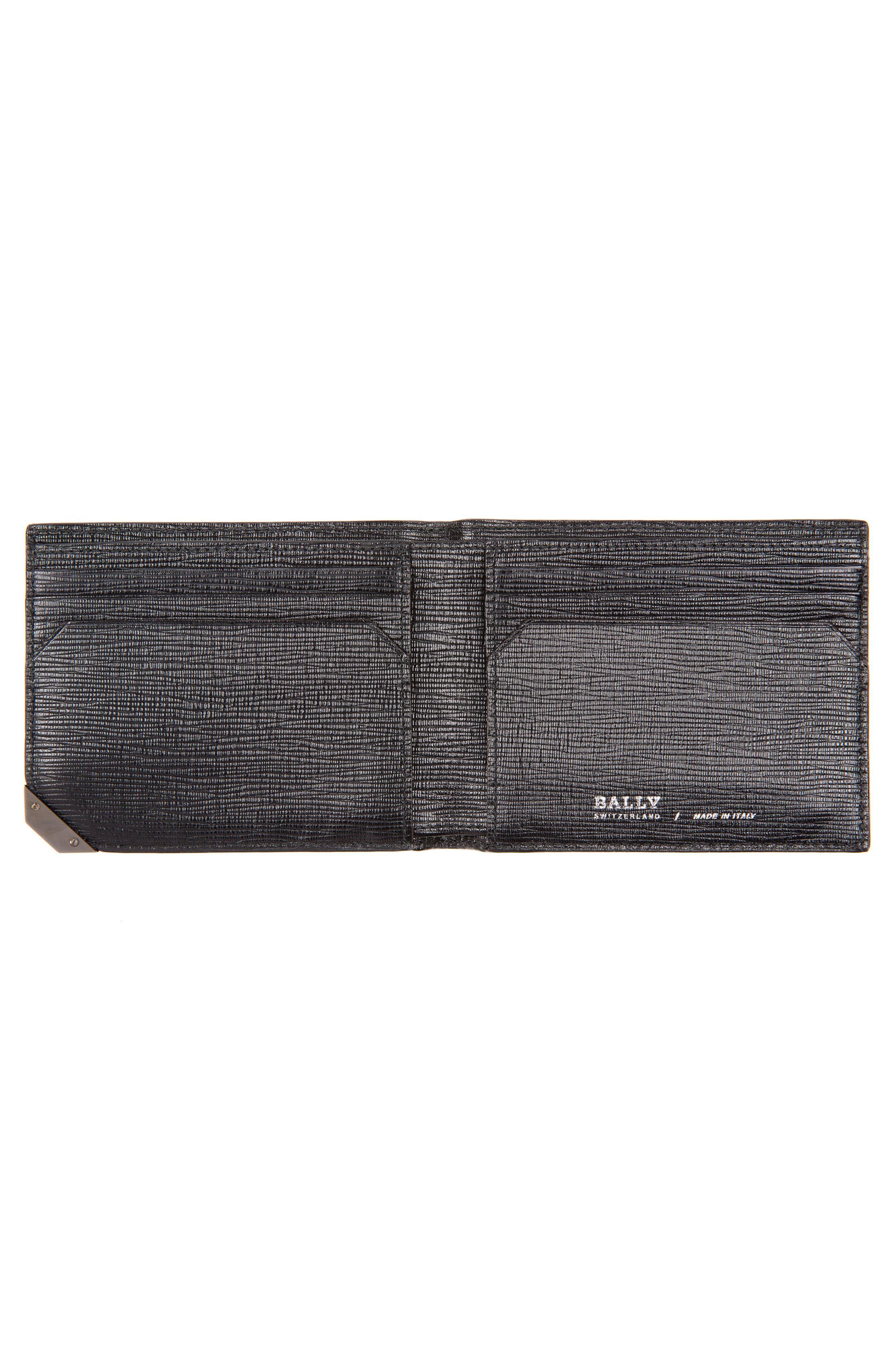 Bevye Leather Wallet,                             Alternate thumbnail 2, color,                             Black