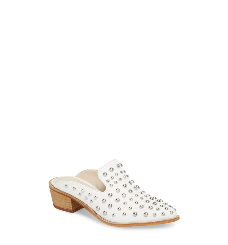 Mollie Studded Loafer Mule