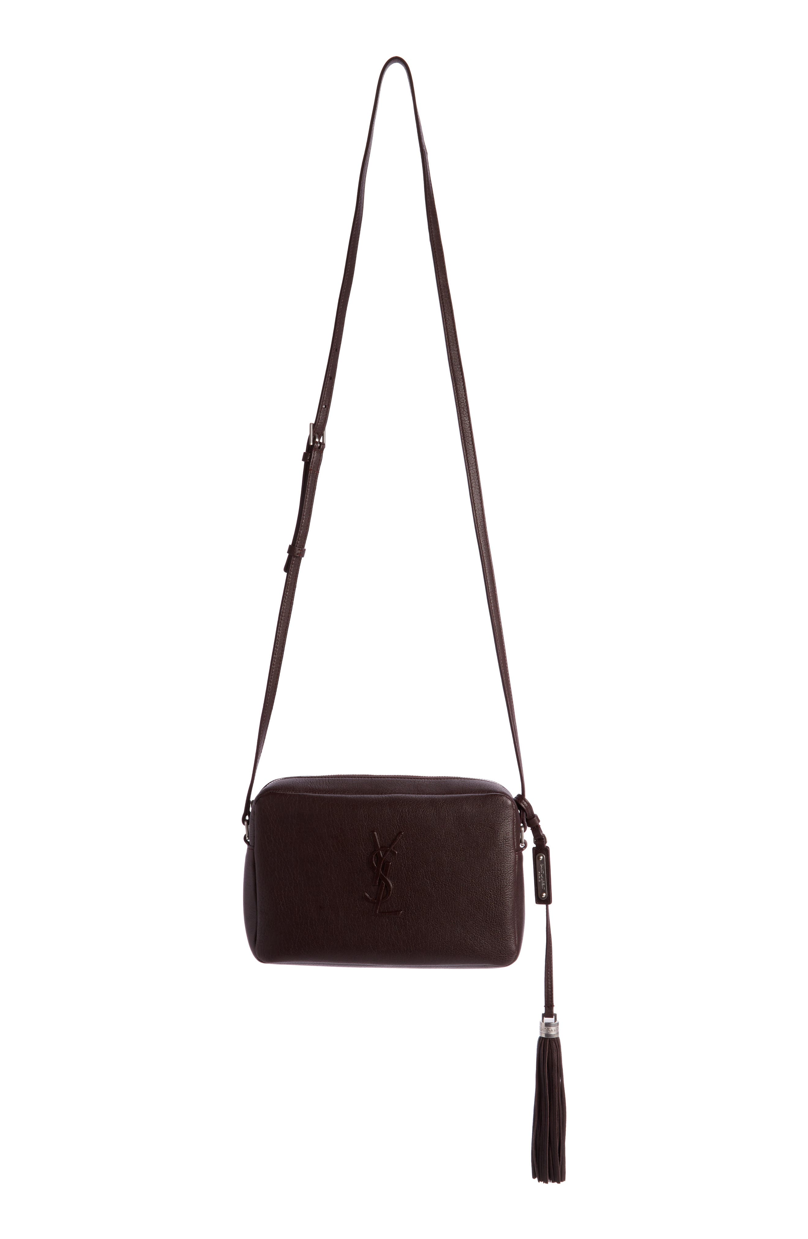 Saint Laurent Small Mono Leather Camera Bag
