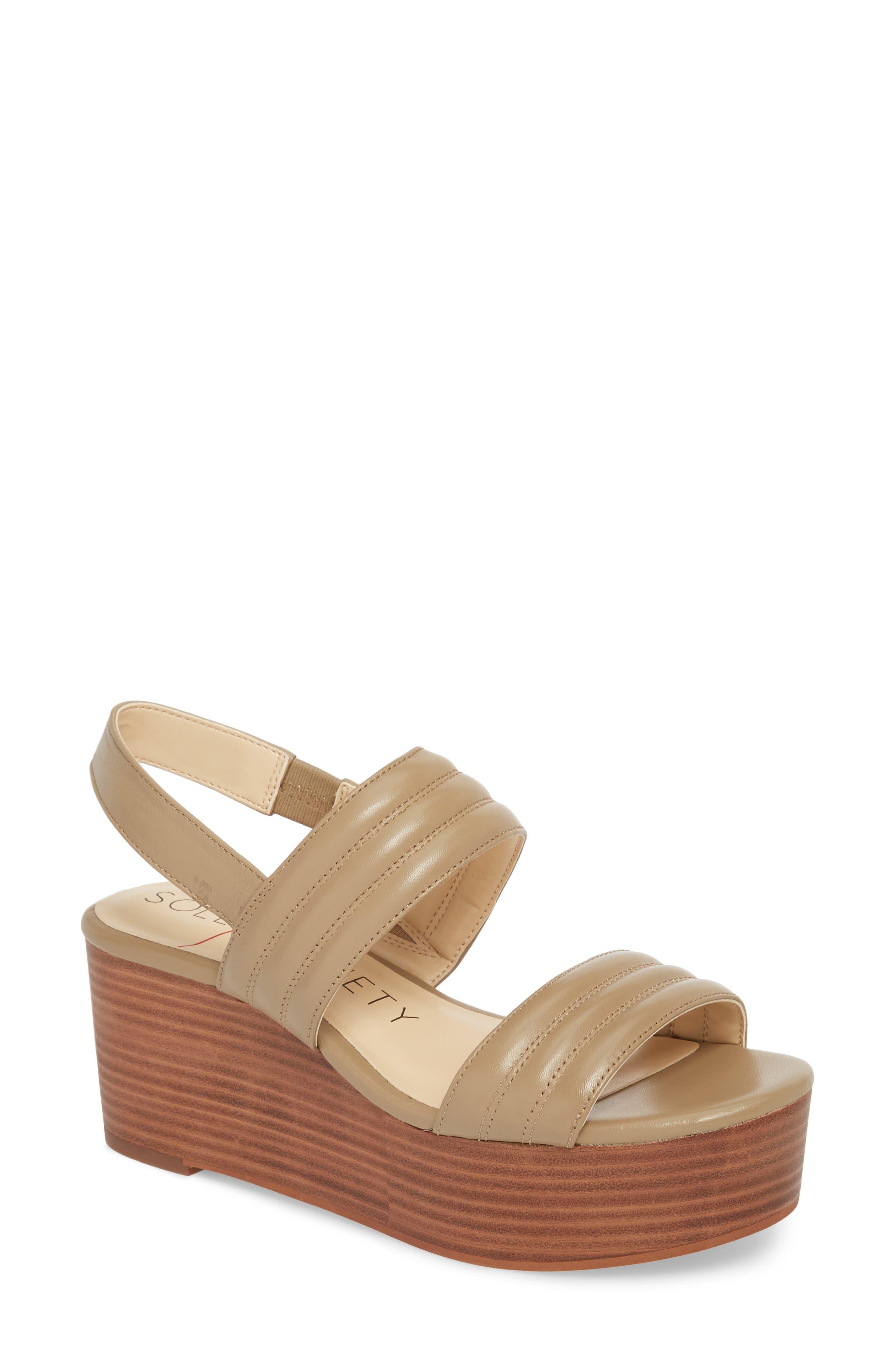 Amberly Platform Sandal,                             Main thumbnail 1, color,                             Night Taupe