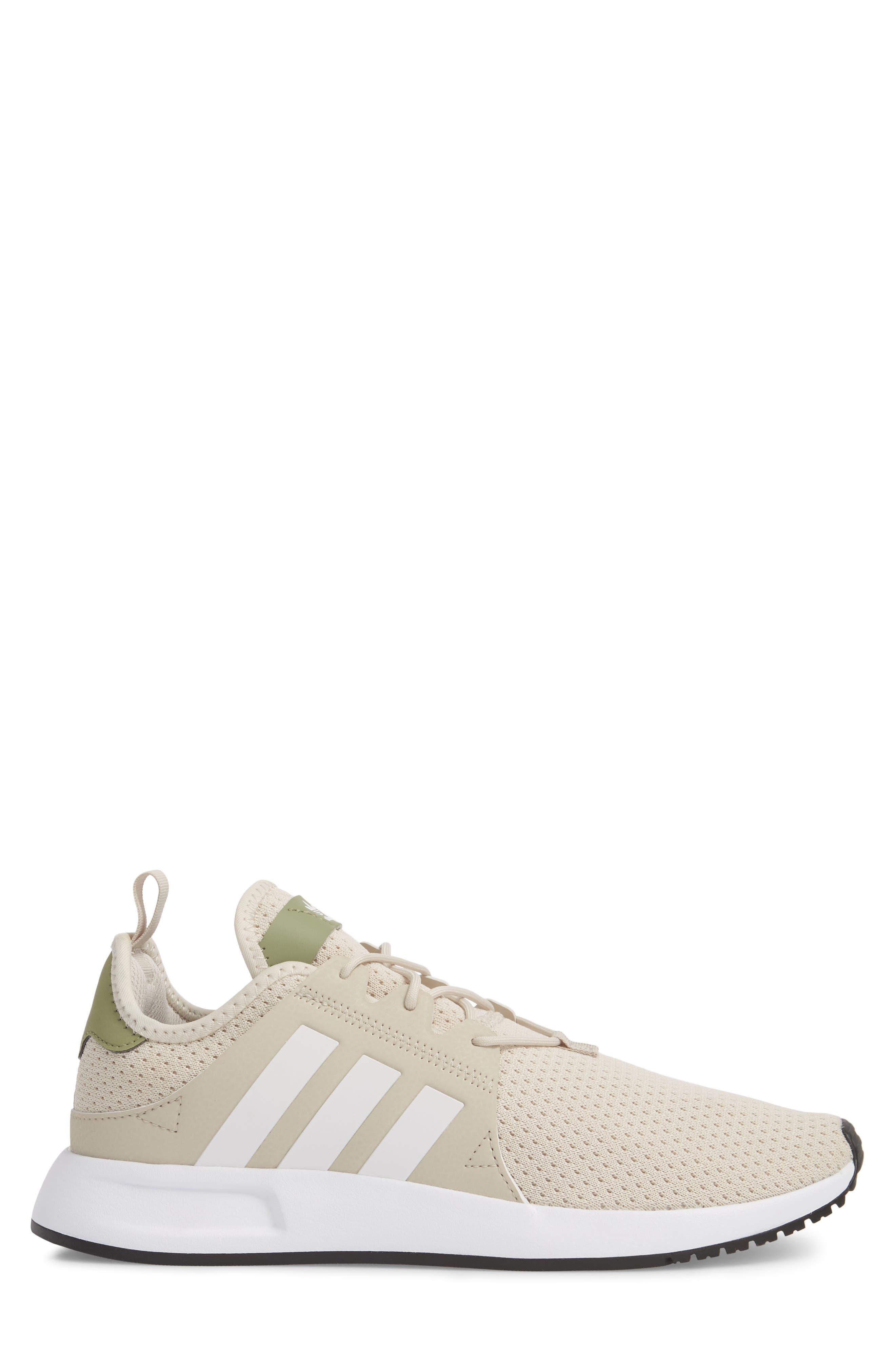 X_PLR Sneaker,                             Alternate thumbnail 3, color,                             Brown/ White / Trace Cargo