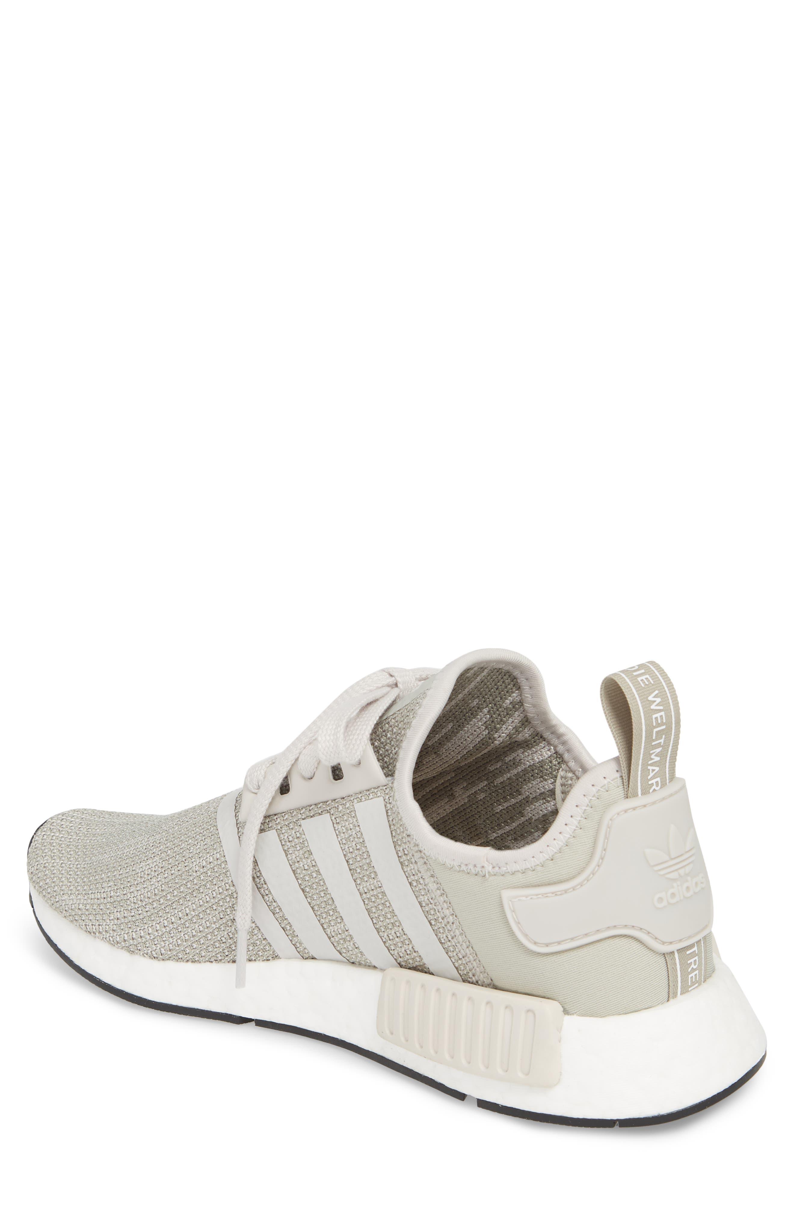 NMD_R1 Sneaker,                             Alternate thumbnail 2, color,                             Raw Gold/ Tech Beige/ Black