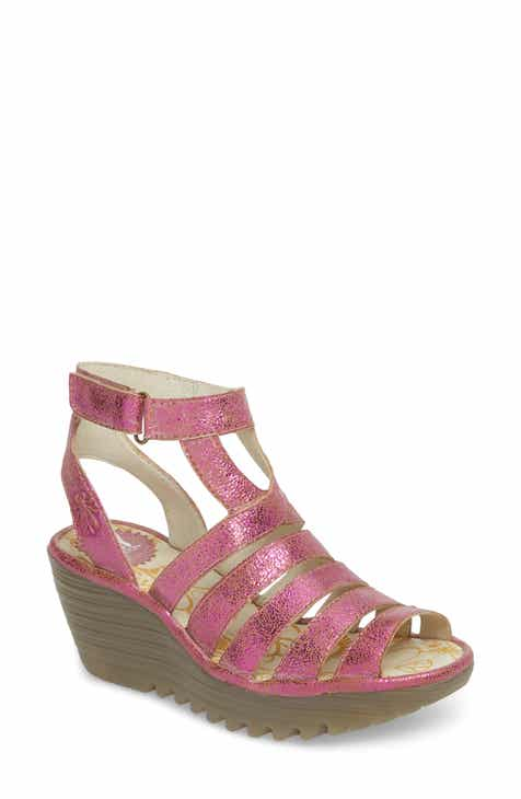 e97118494d8 Fly London Yeba Wedge Sandal (Women)