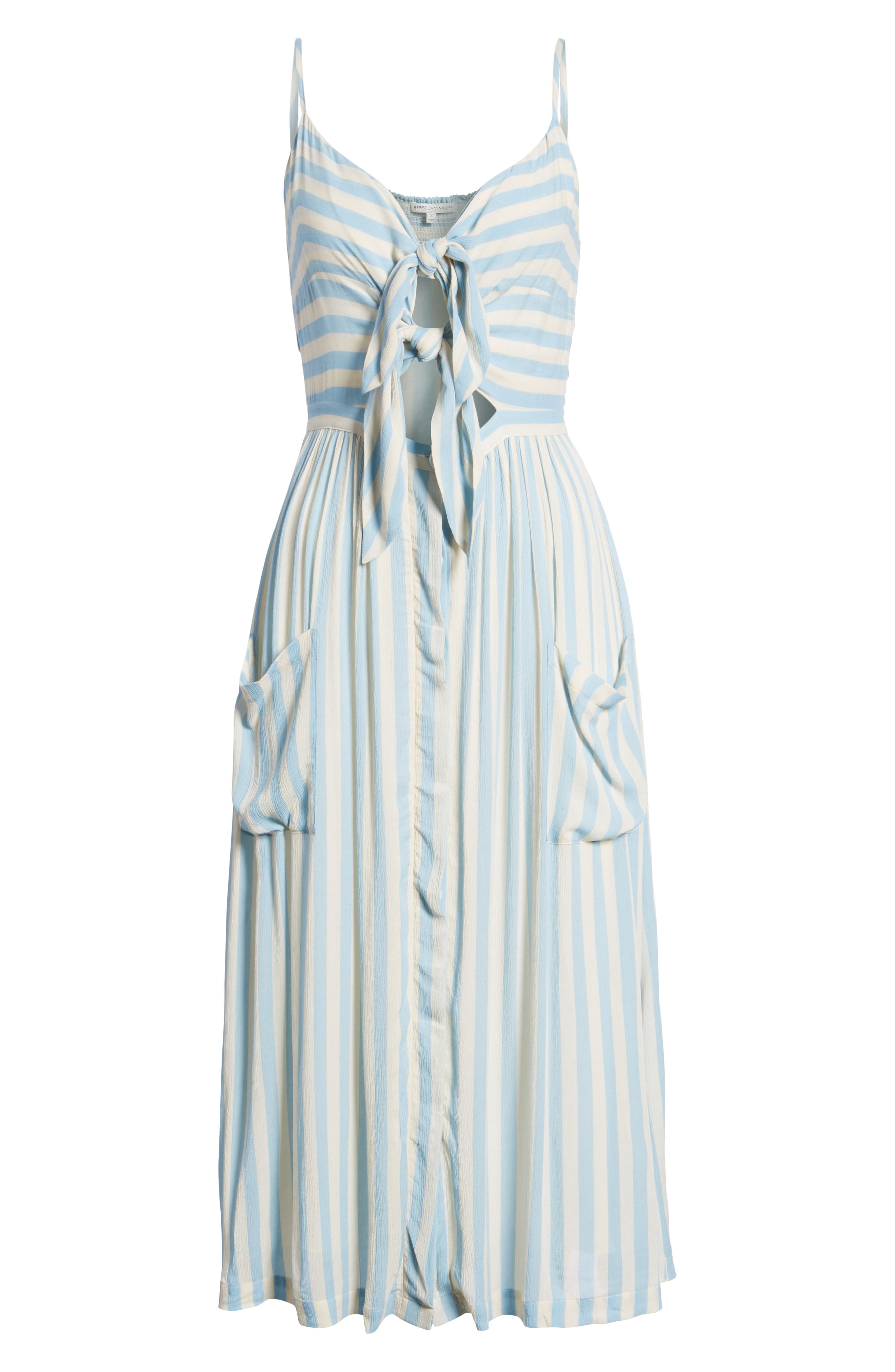 Derinda Dress,                             Alternate thumbnail 7, color,                             Blue Multi