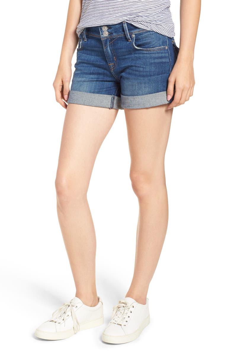Ramona Cuffed Denim Shorts