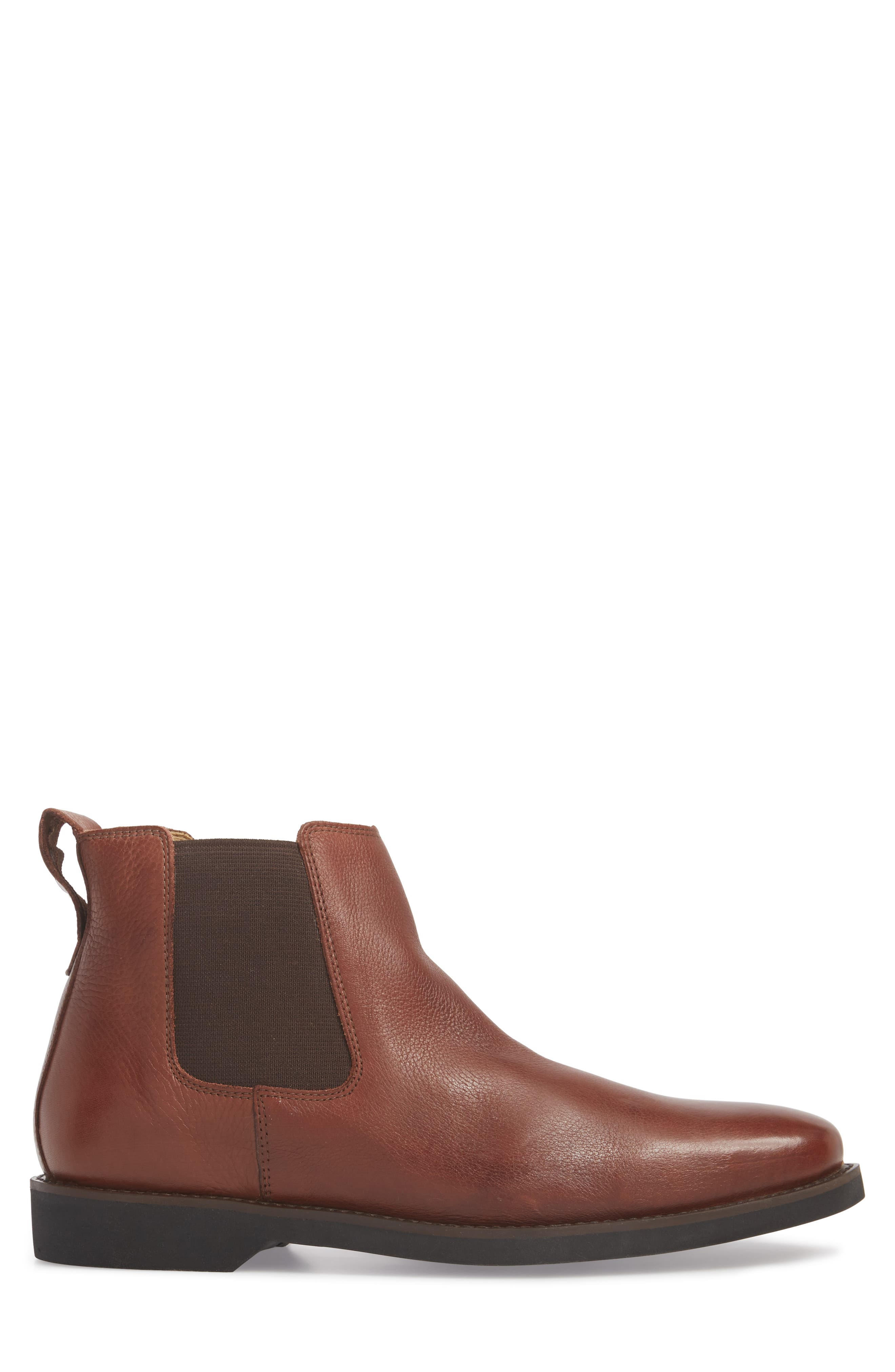 Cardoso Chelsea Boot,                             Alternate thumbnail 3, color,                             Floater Pinaho Leather