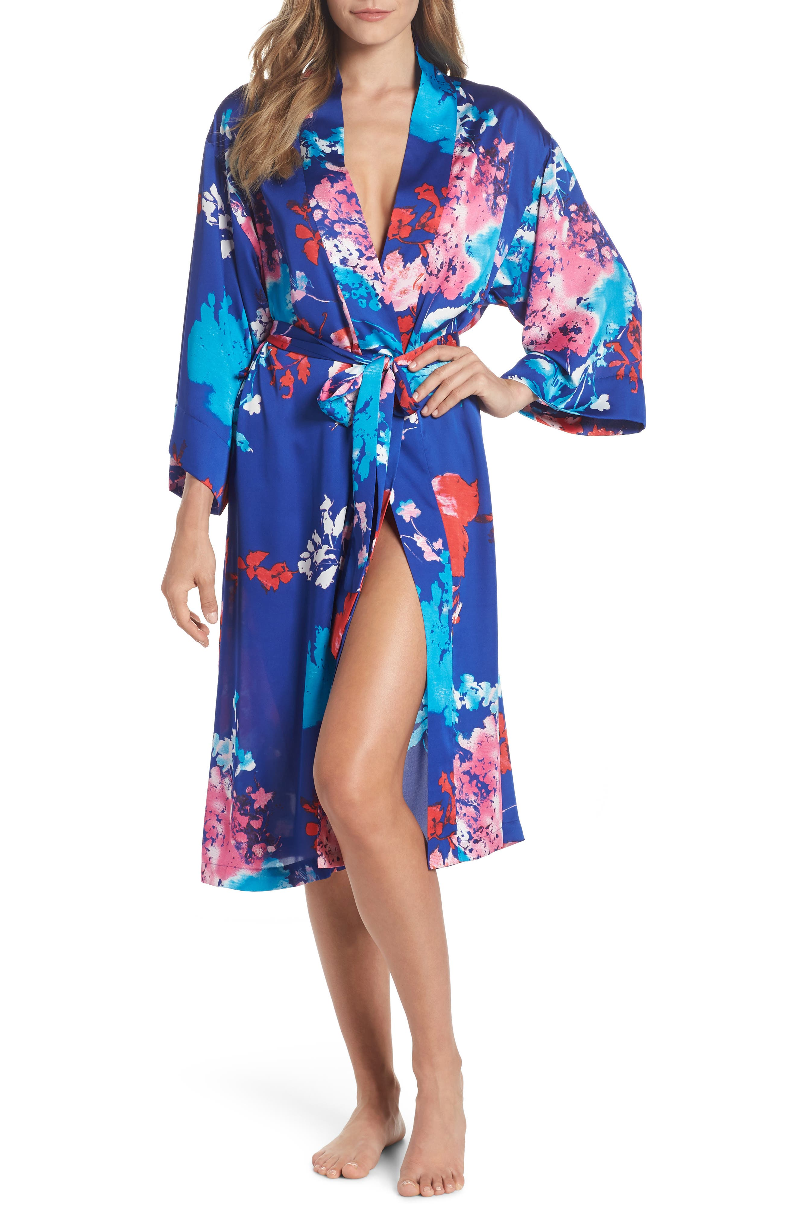 Fiji Robe,                             Main thumbnail 1, color,                             Cob Cobalt