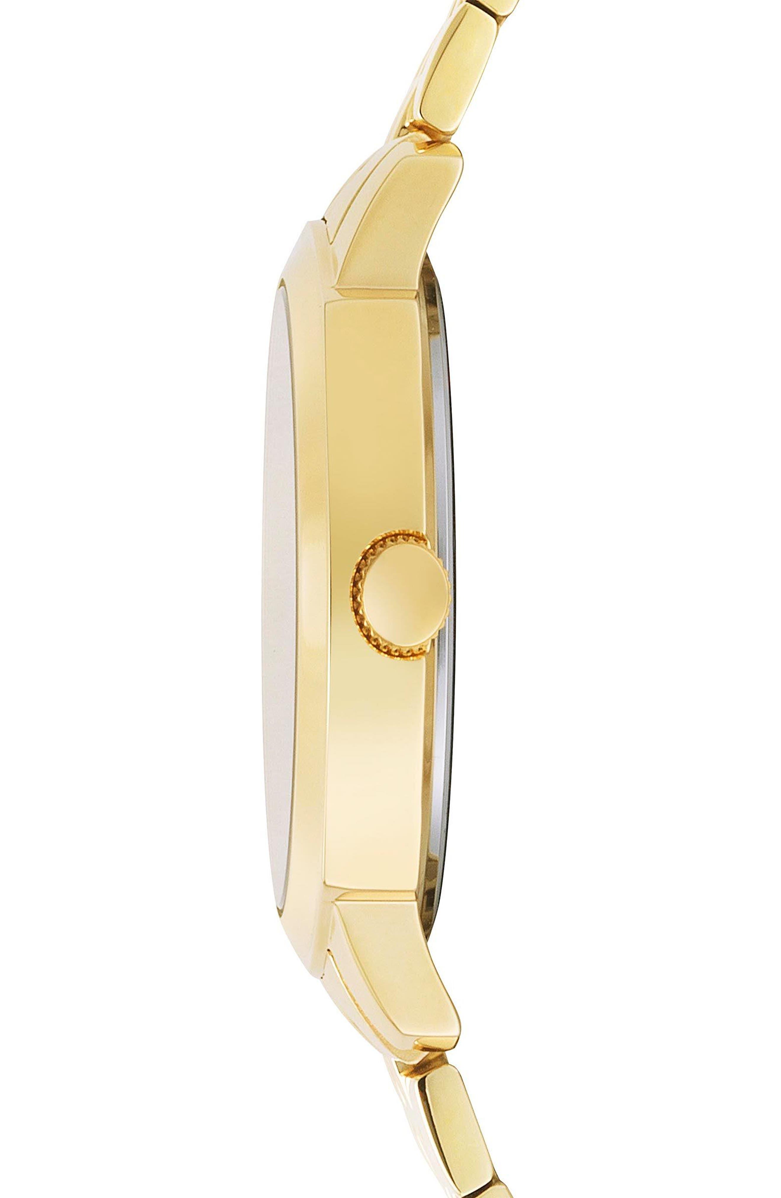 VERSUS by Versace Chelsea Bracelet Watch, 34mm,                             Alternate thumbnail 2, color,                             Gold/ Silver/ Gold