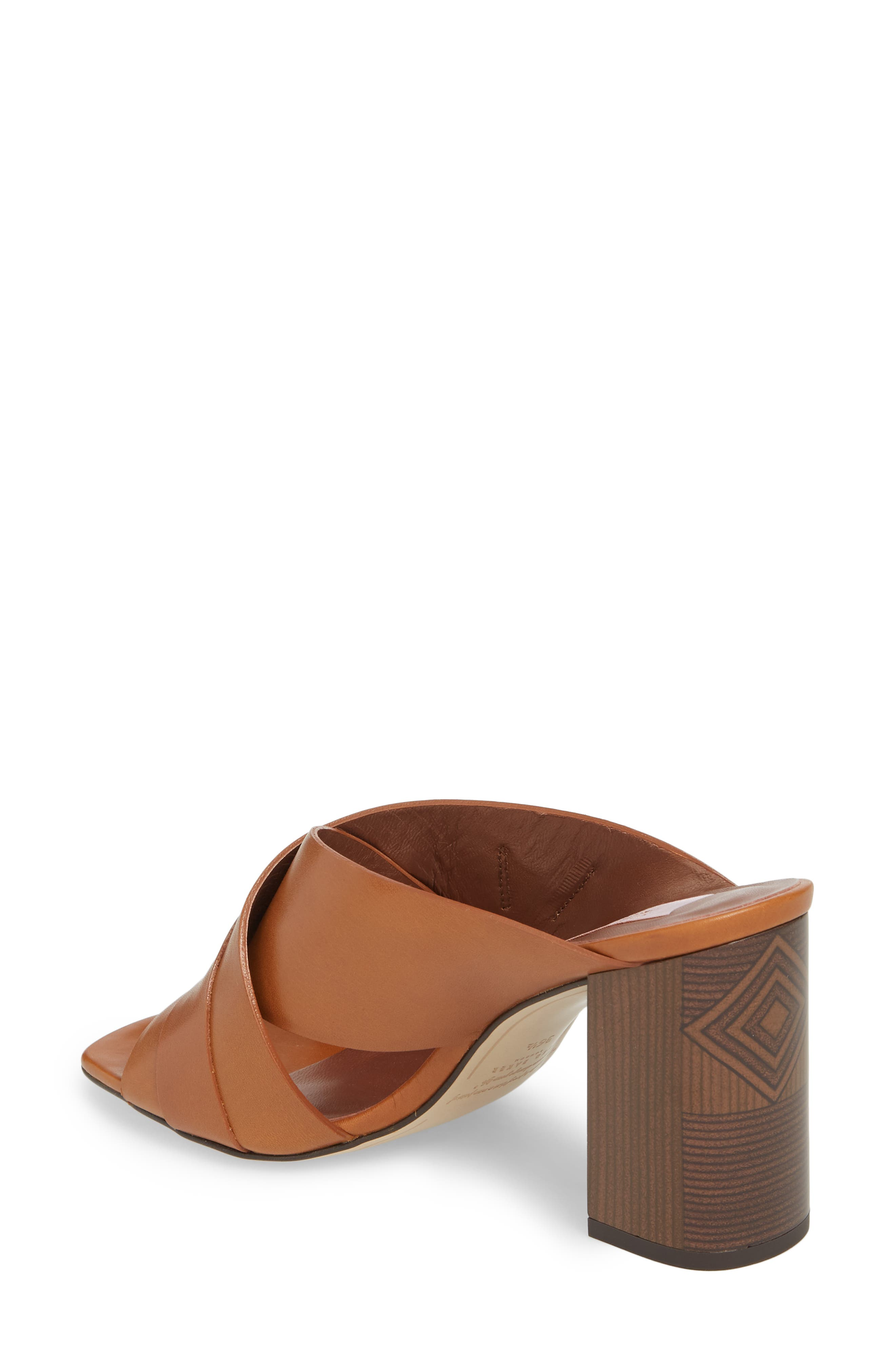 Maladas Slide Sandal,                             Alternate thumbnail 2, color,                             Tan Leather