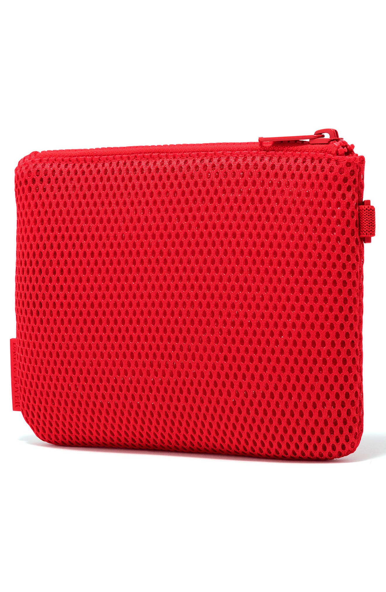 Small Parker Mesh Pouch,                             Alternate thumbnail 4, color,                             Poppy Air Mesh