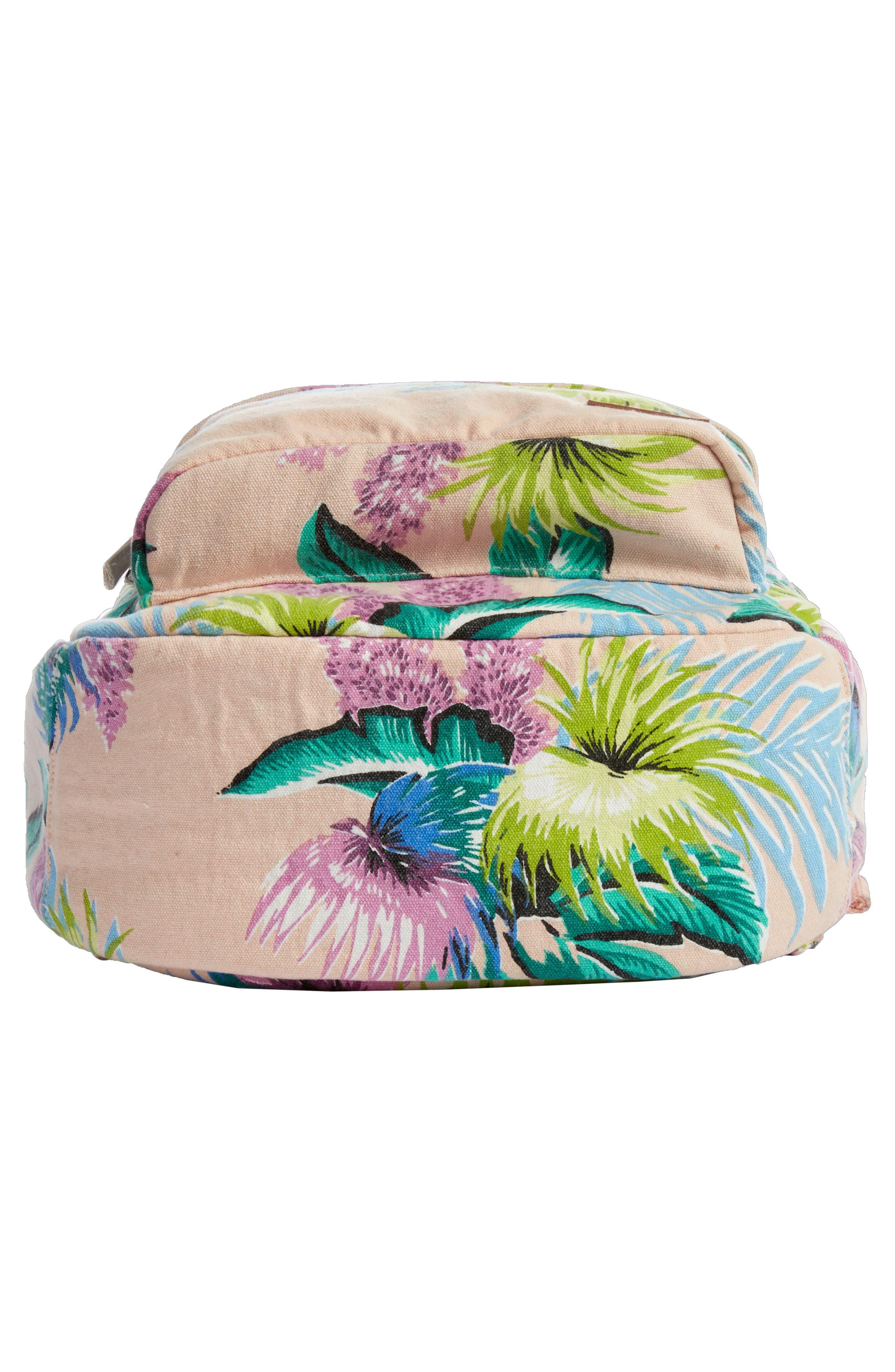 Ophelia Canvas Backpack,                             Alternate thumbnail 6, color,                             Vanilla