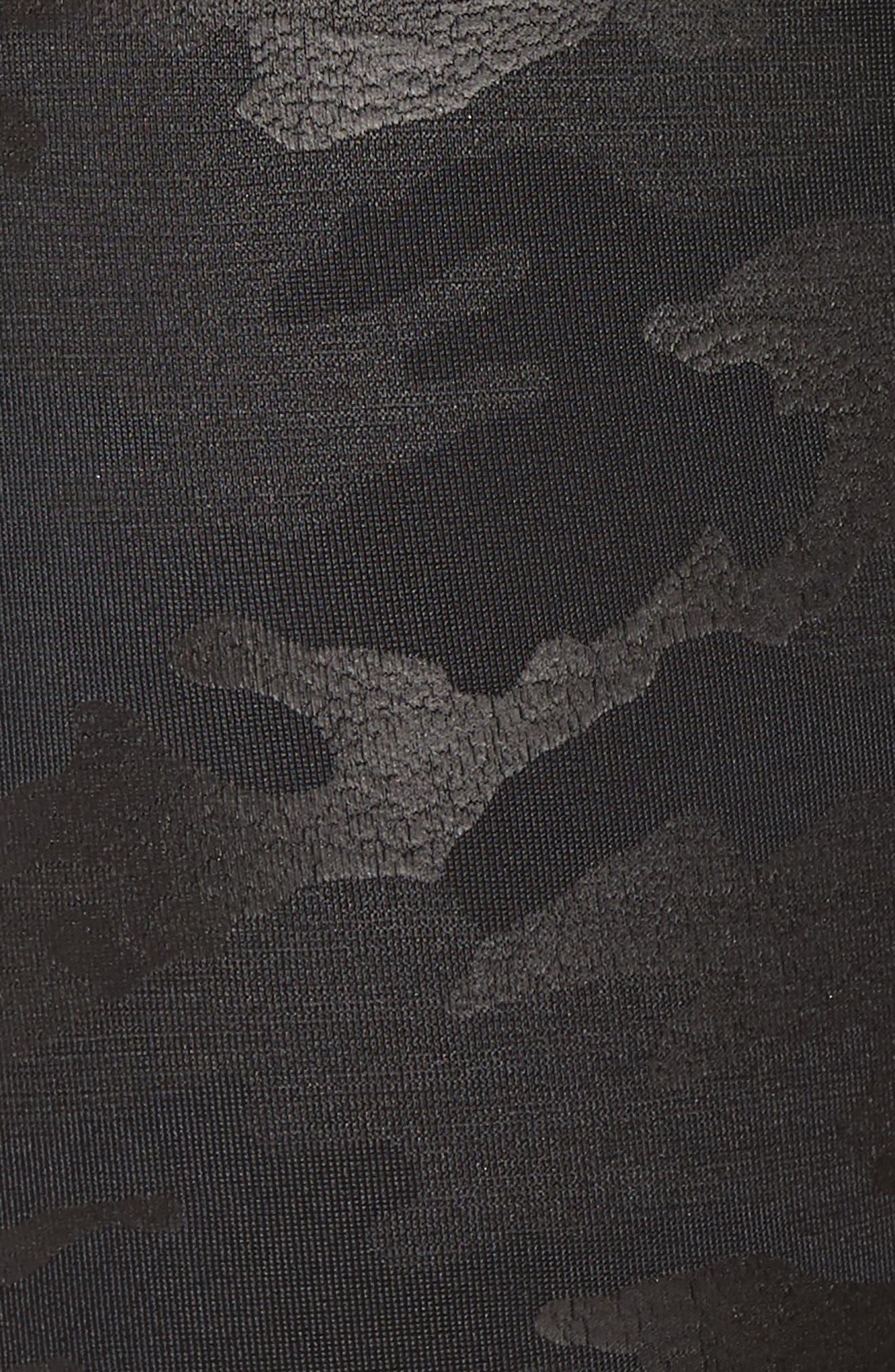 Camo Faux Leather Leggings,                             Alternate thumbnail 5, color,                             Matte Blk Camo