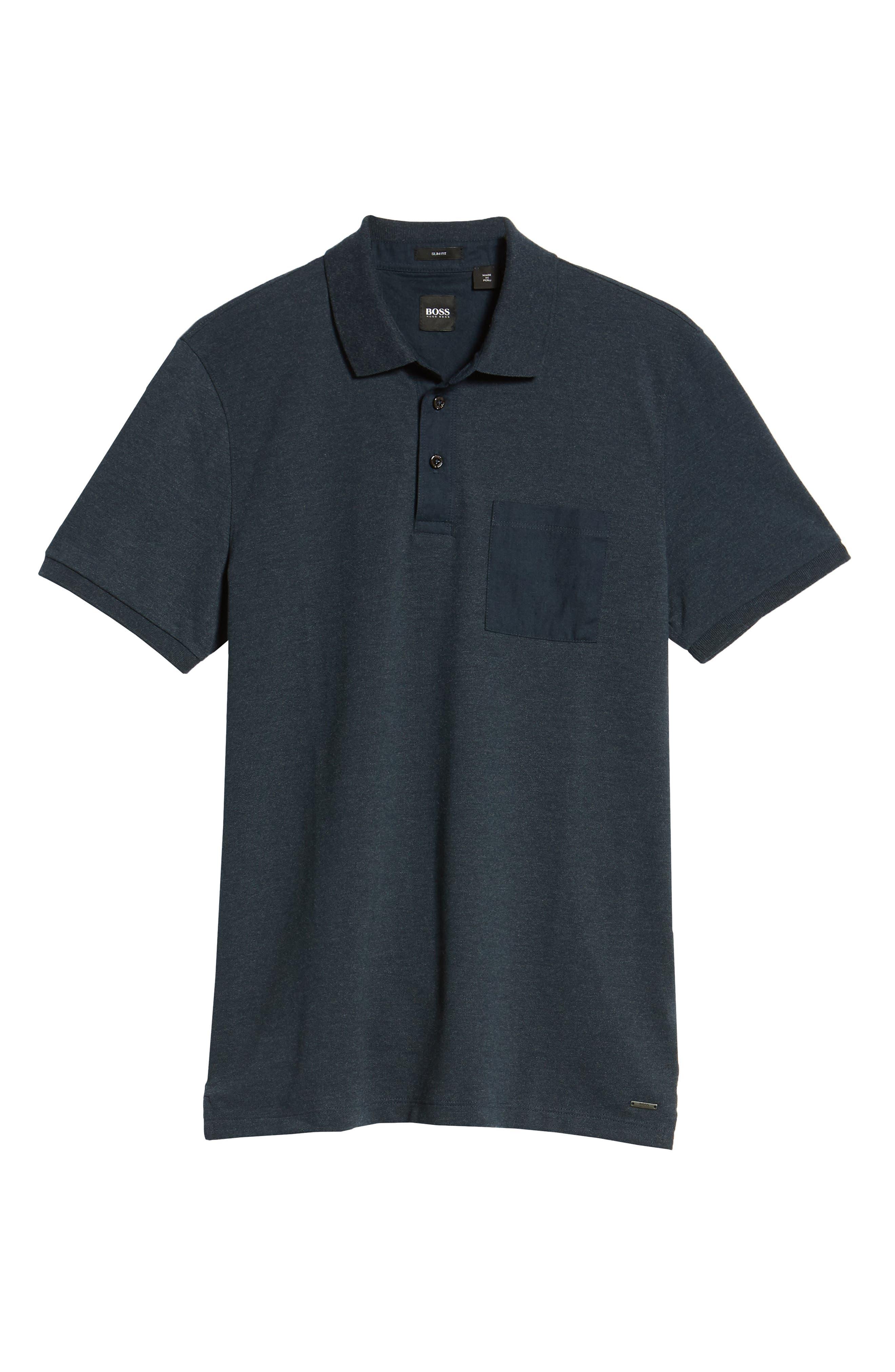 Penrose Polo Shirt,                             Alternate thumbnail 6, color,                             Blue