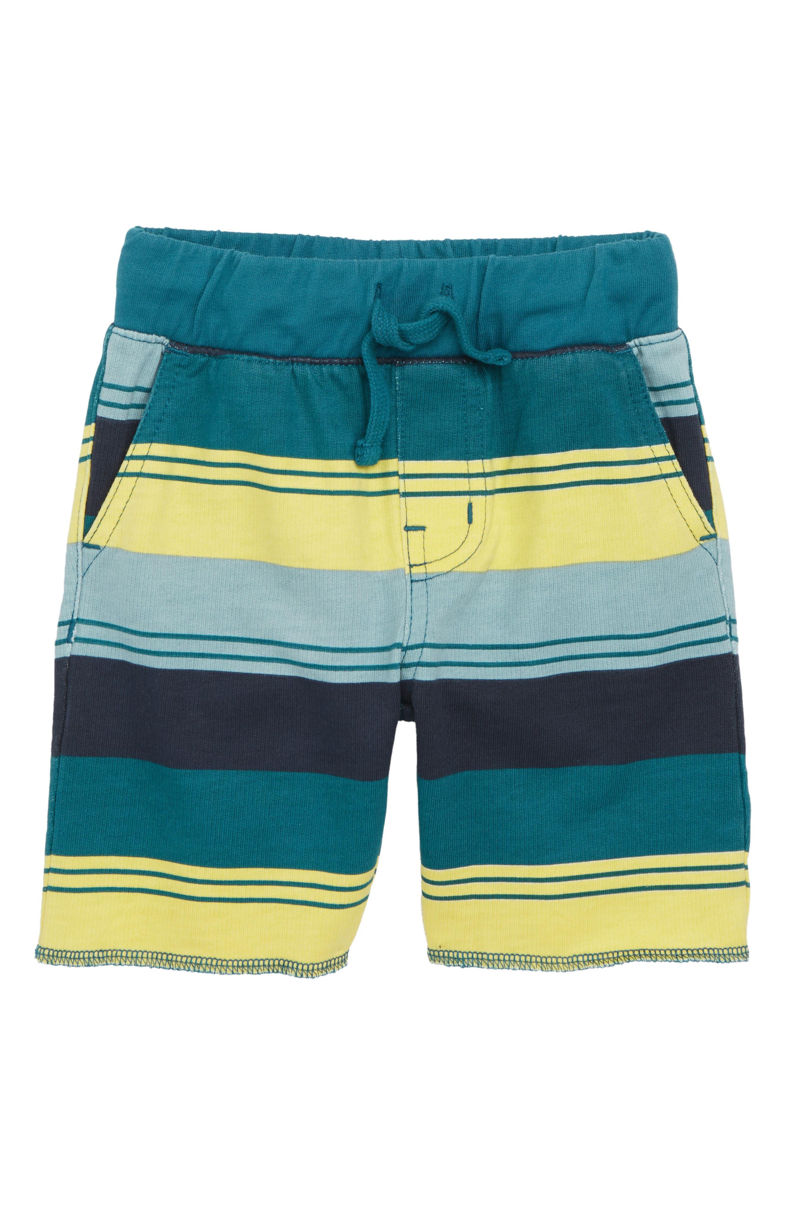 Stripe Cruiser Shorts,                             Main thumbnail 1, color,                             Indigo Tri-Stripe