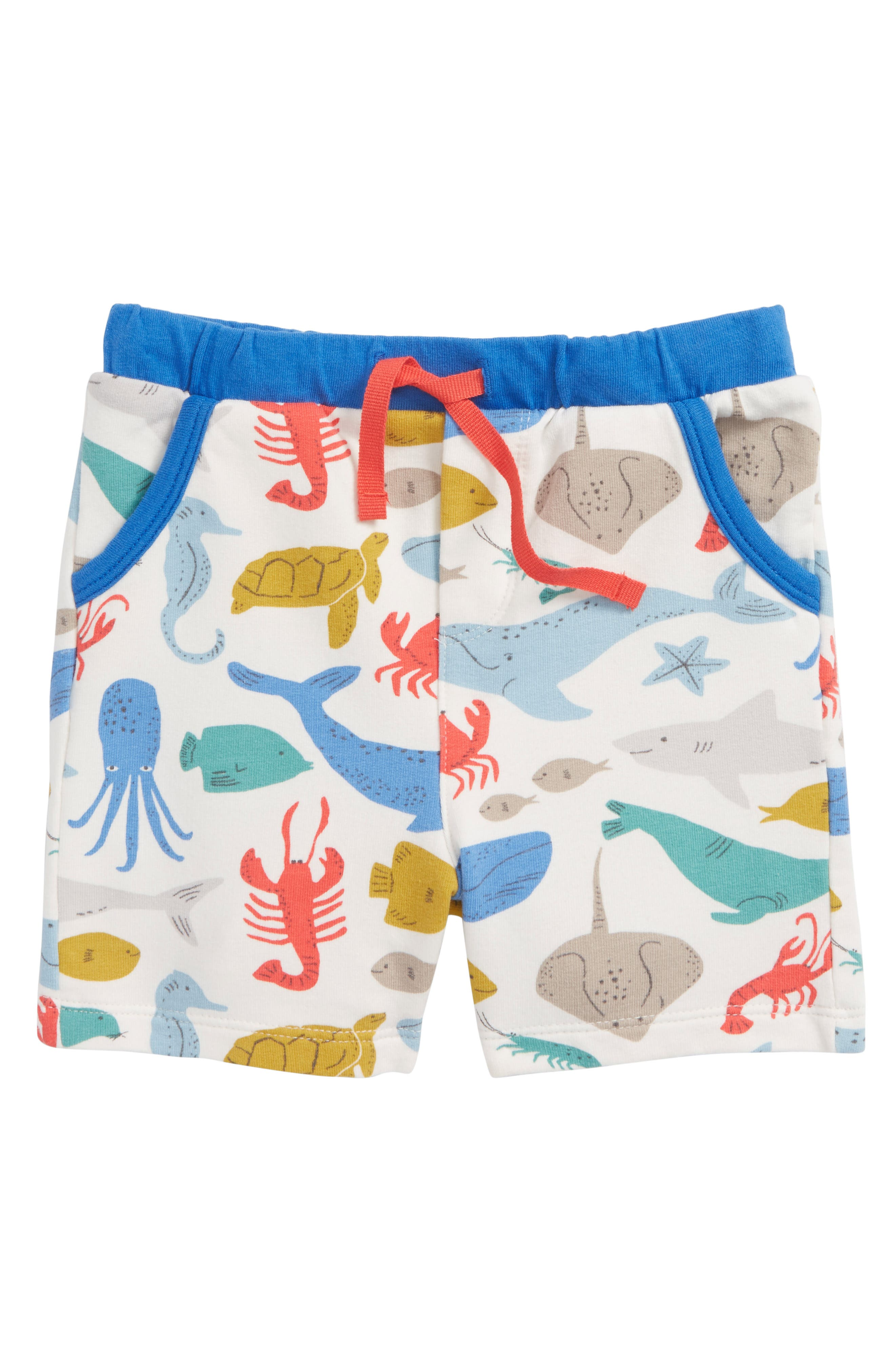 Mini Boden Jersey Shorts (Baby Boys & Toddler Boys)