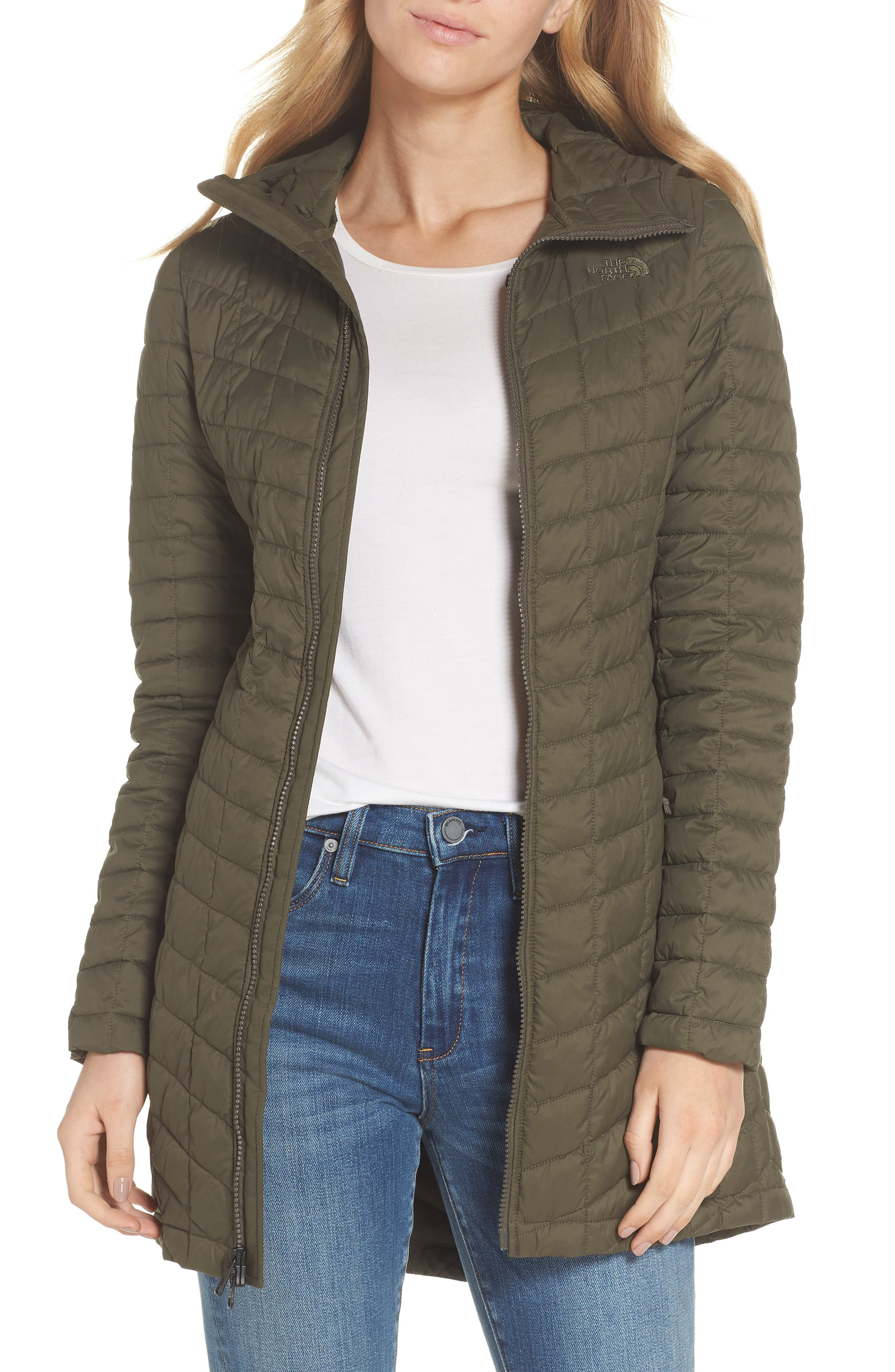 ThermoBall<sup>™</sup> PrimaLoft<sup>®</sup> Hooded Parka,                         Main,                         color, New Taupe Green Matte