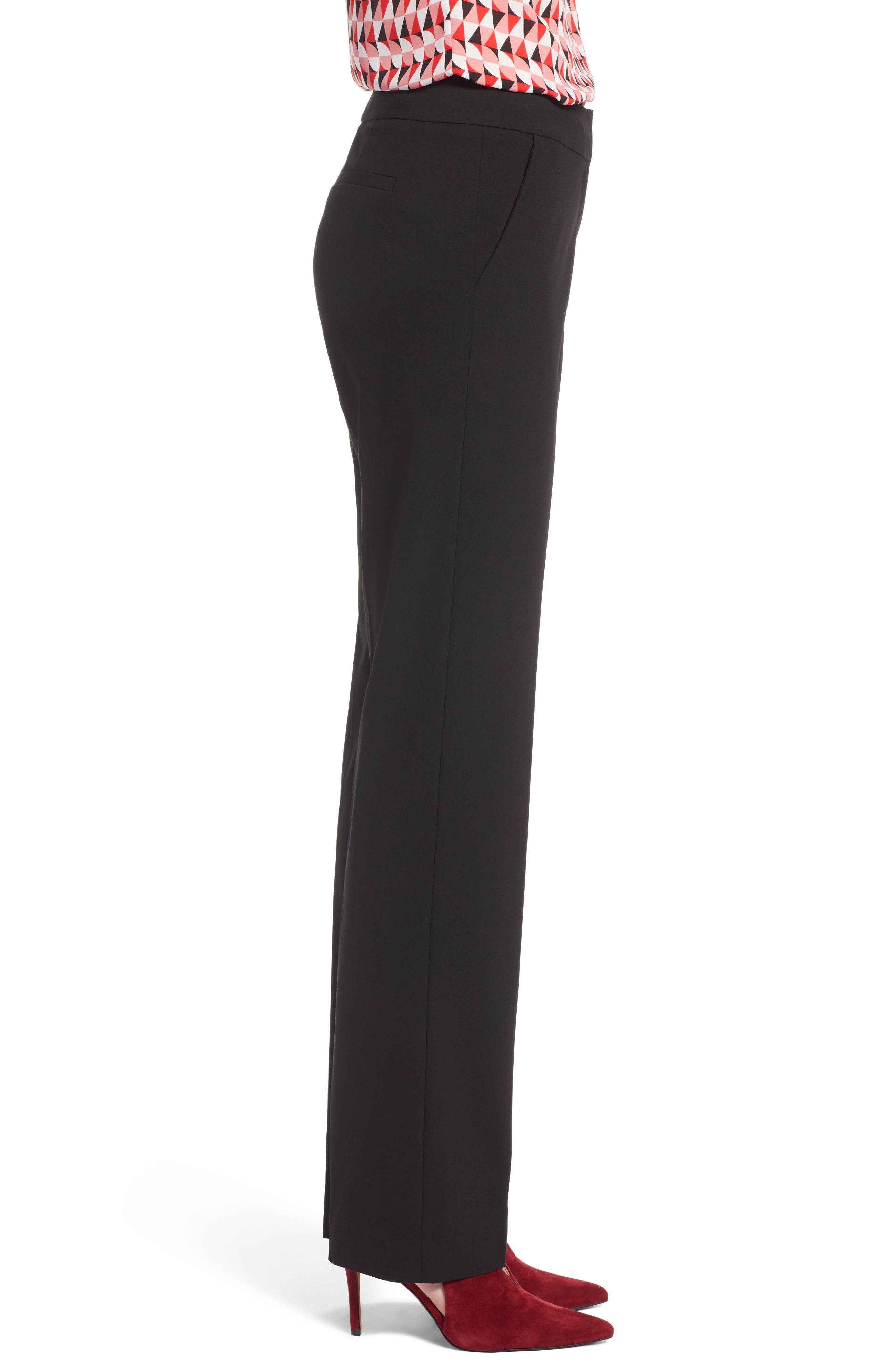 Stovepipe Pants,                             Alternate thumbnail 3, color,                             Black