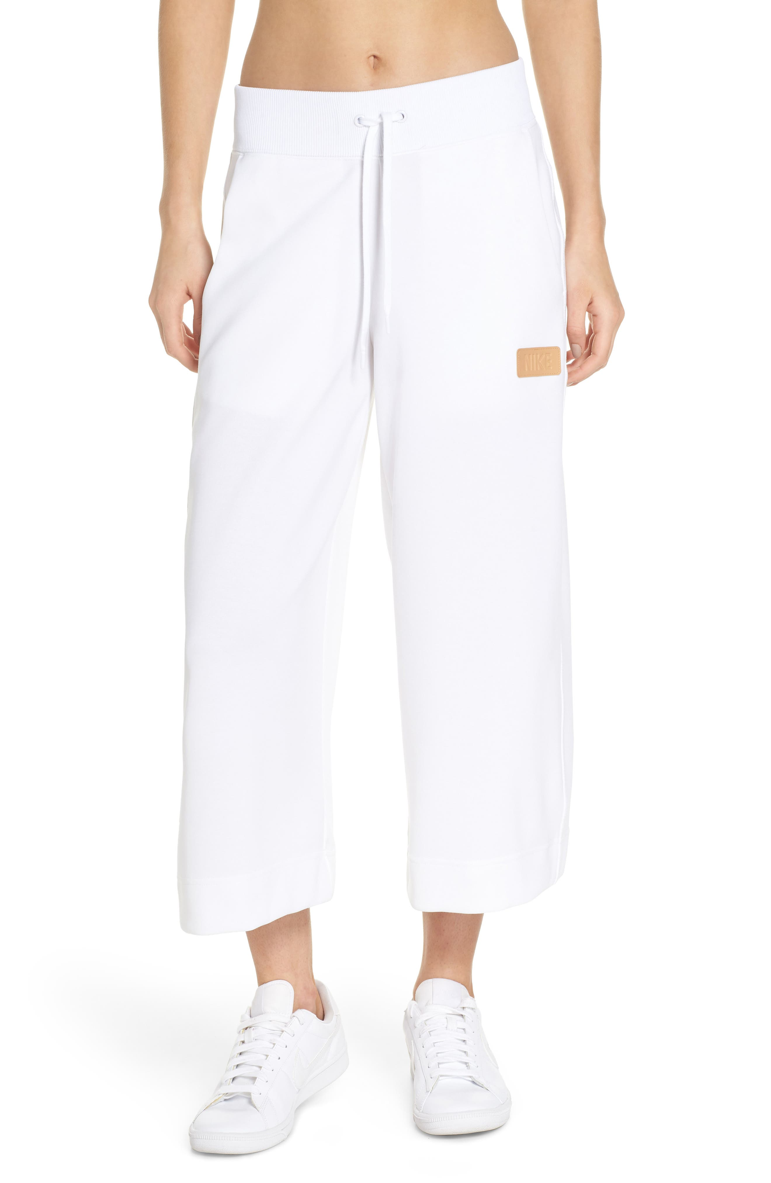 Sportswear Beautiful x Powerful Crop Pants,                         Main,                         color, White