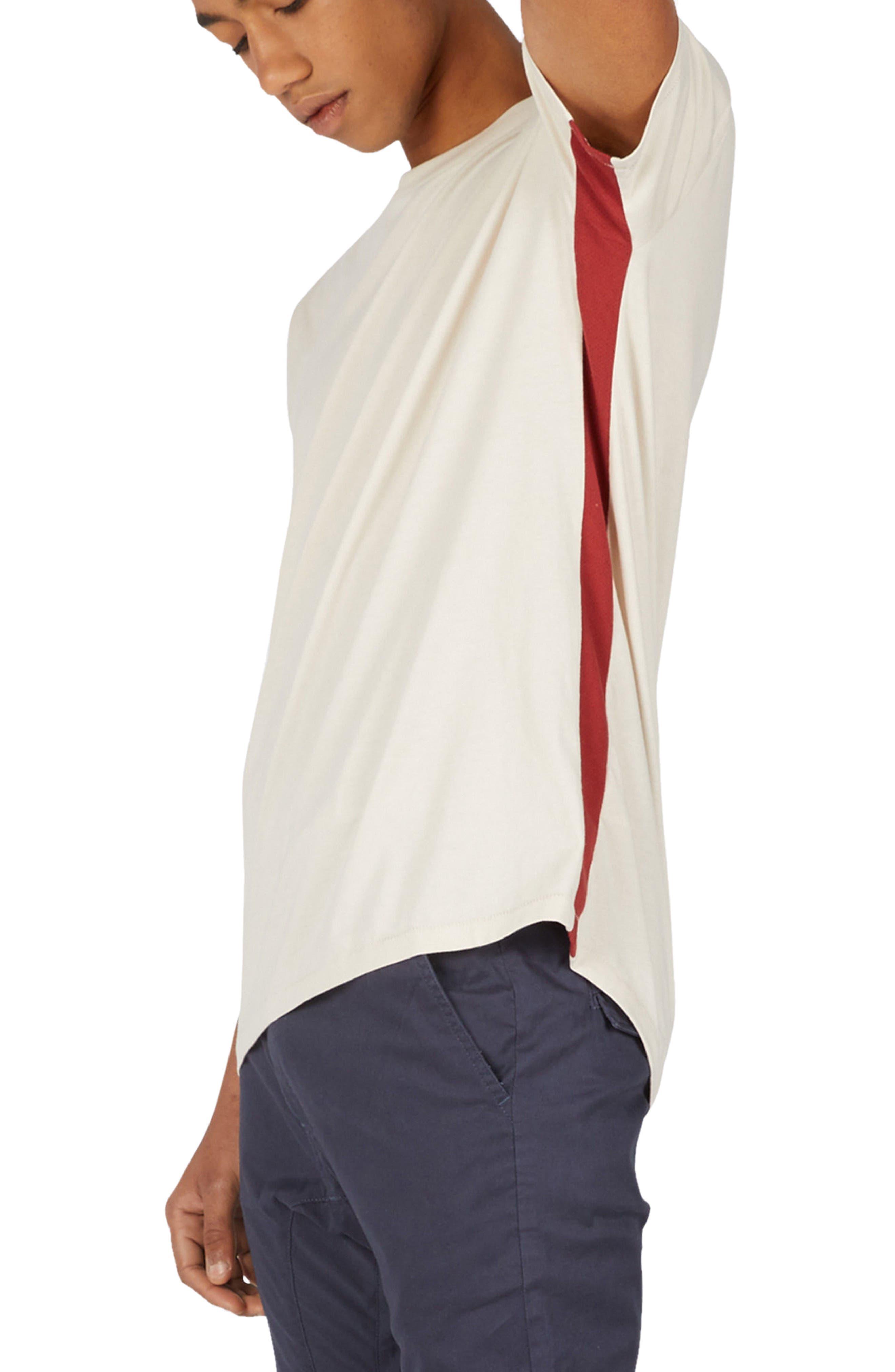 Sideline Rugger T-Shirt,                             Alternate thumbnail 4, color,                             Natural