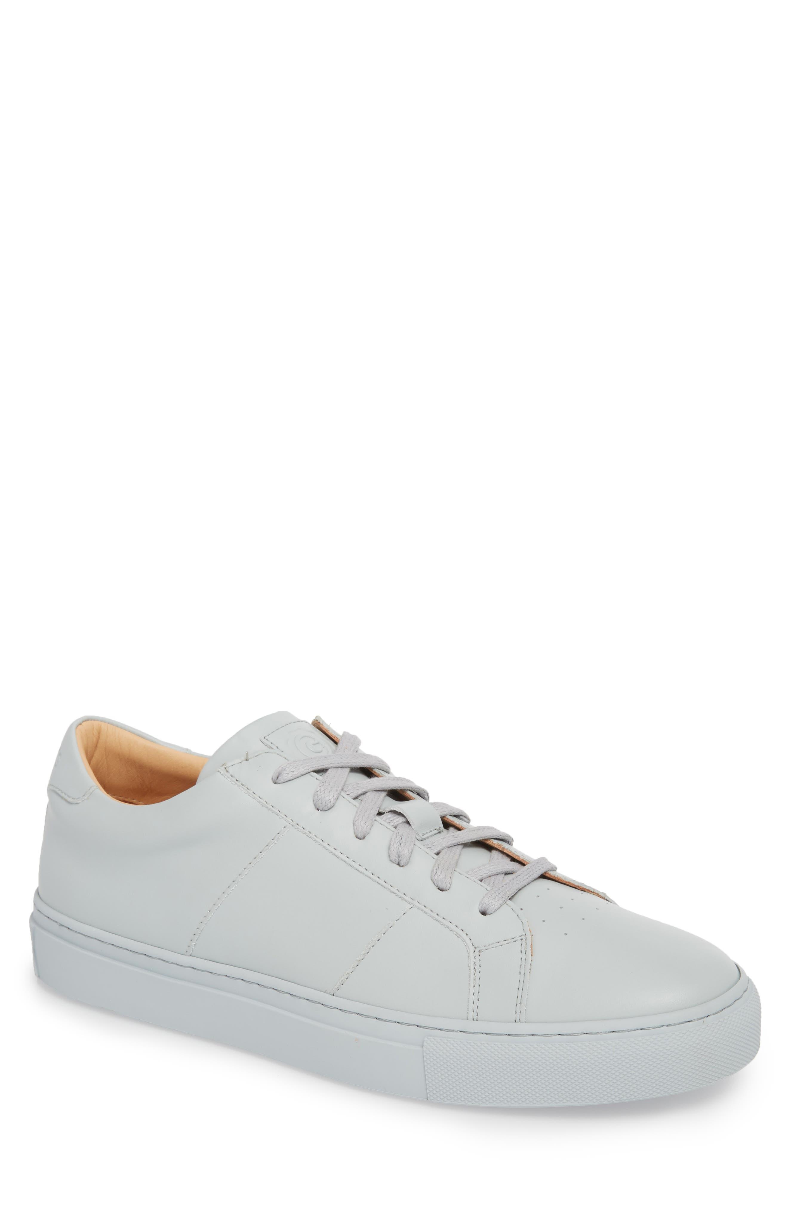 Royale Sneaker,                             Main thumbnail 1, color,                             Grey Tonal Leather