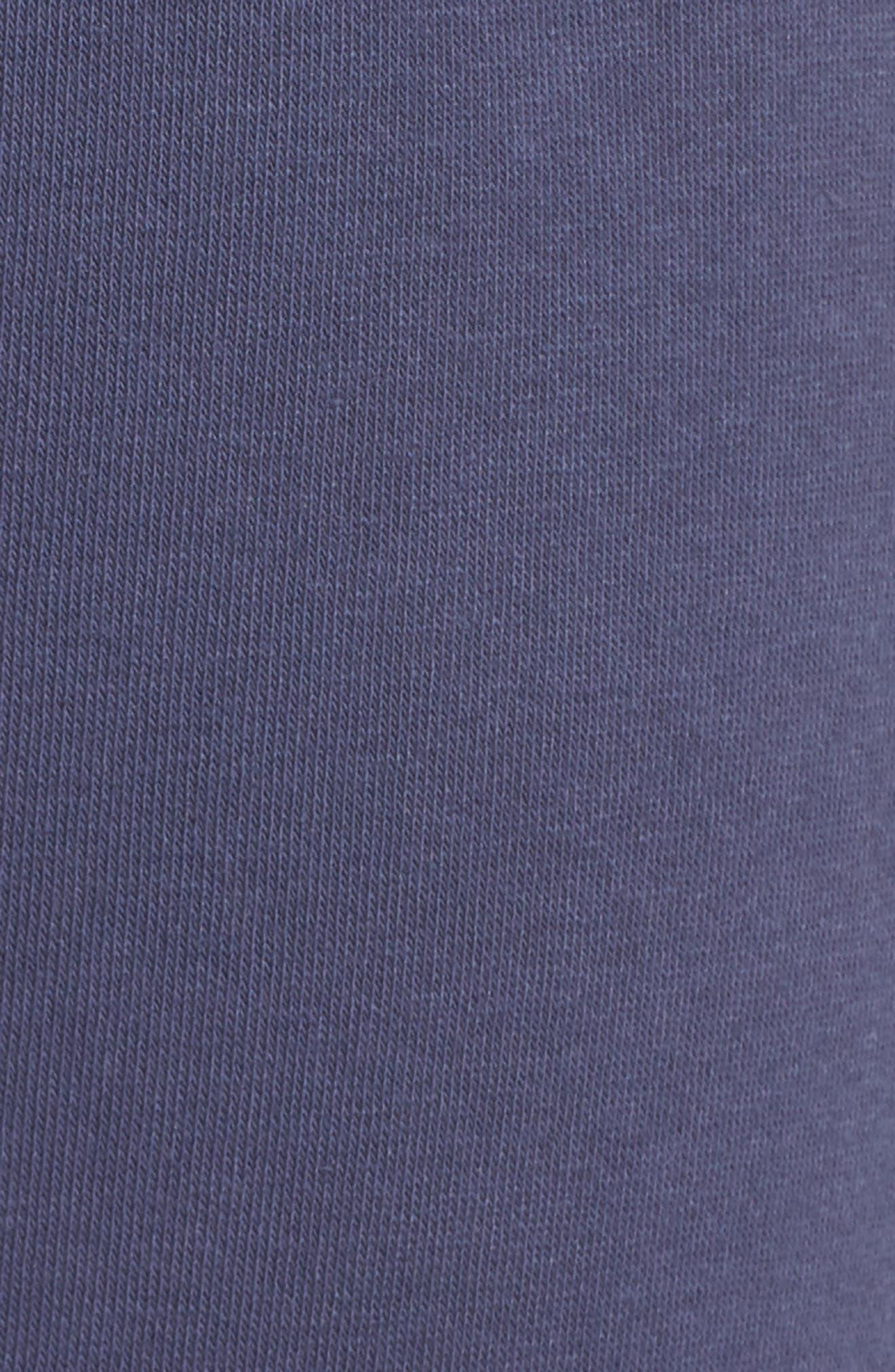 Sleepy High Rise Lounge Jogger Pants,                             Alternate thumbnail 7, color,                             Blue Indigo