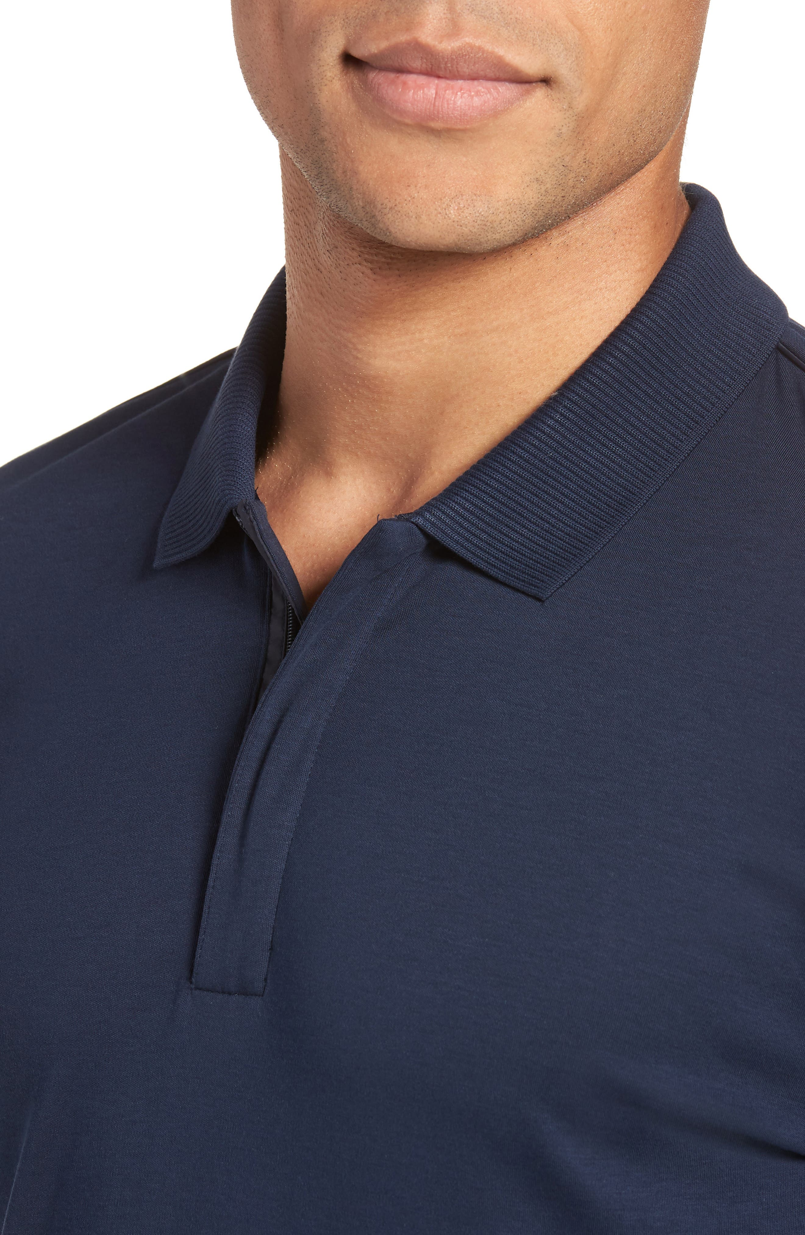 Pohl Polo Shirt,                             Alternate thumbnail 4, color,                             Blue