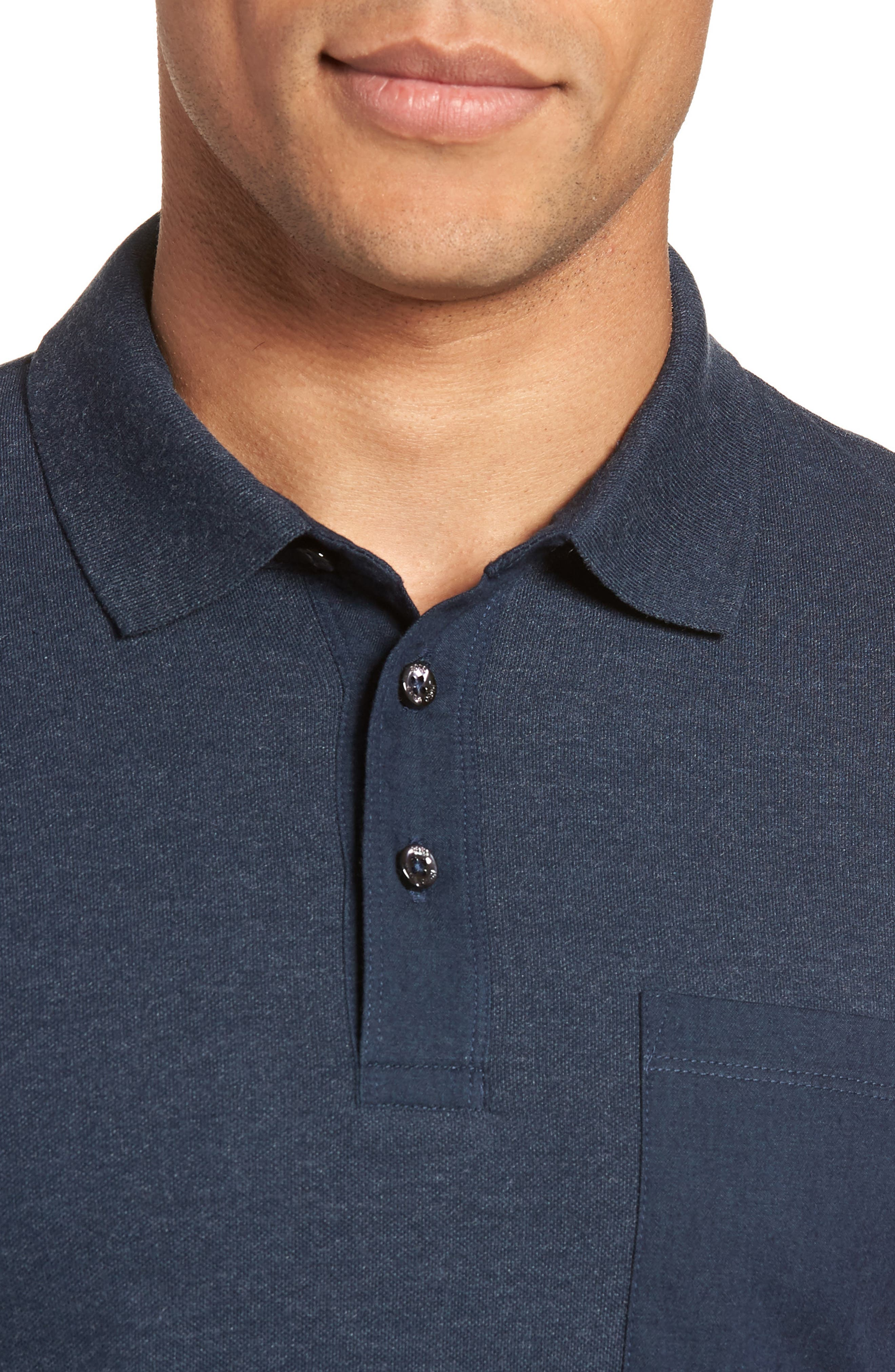 Penrose Polo Shirt,                             Alternate thumbnail 4, color,                             Blue