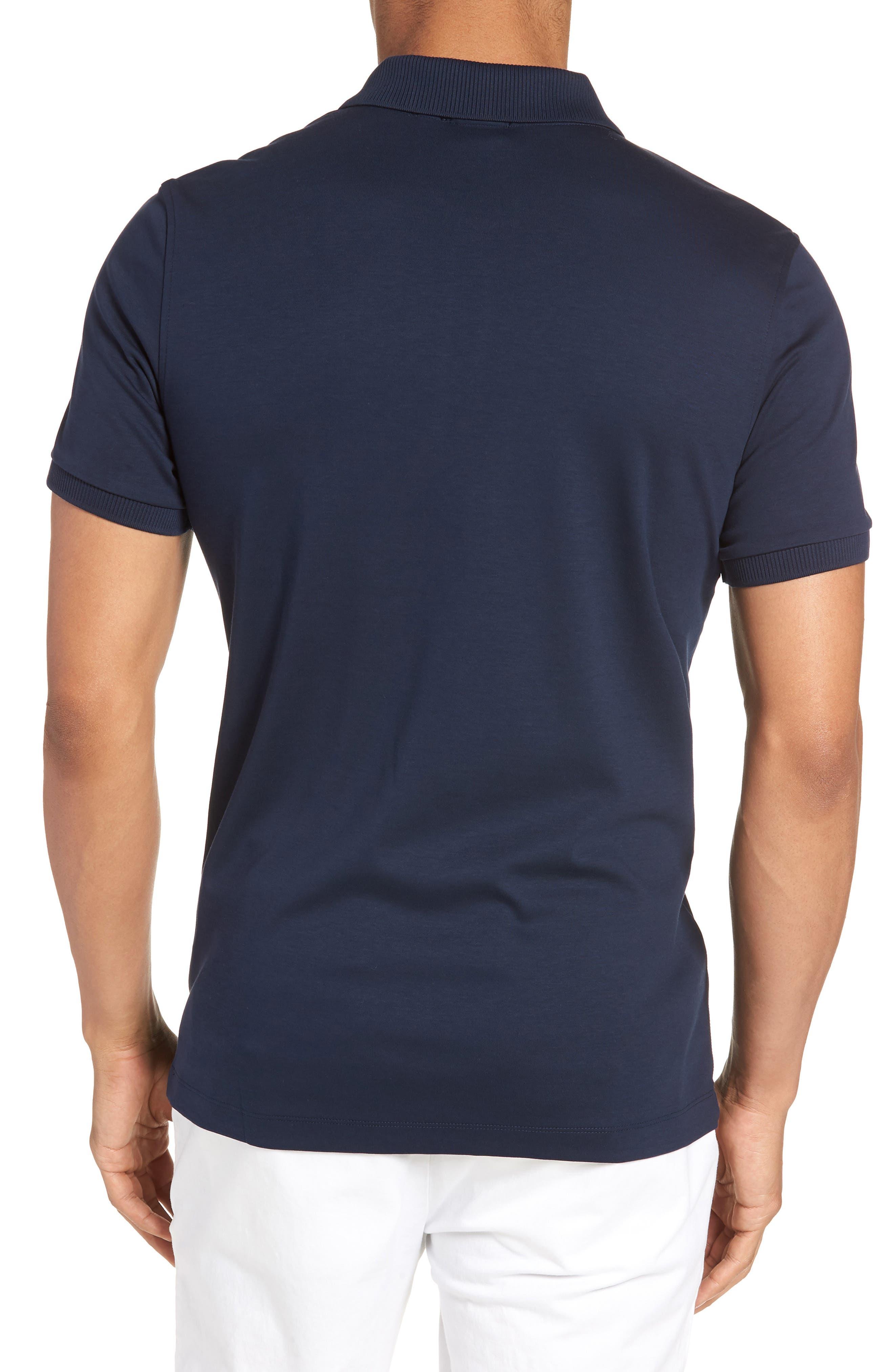 Pohl Polo Shirt,                             Alternate thumbnail 2, color,                             Blue