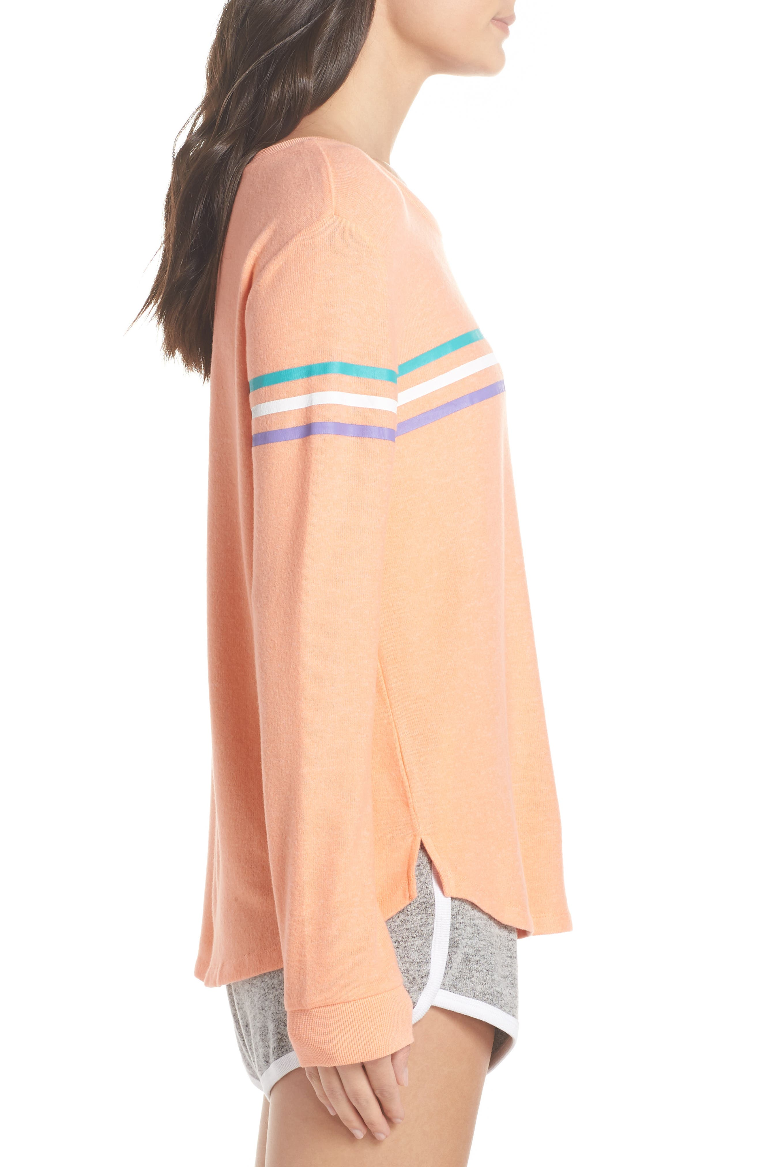 Too Cool Pullover,                             Alternate thumbnail 3, color,                             Coral Pink