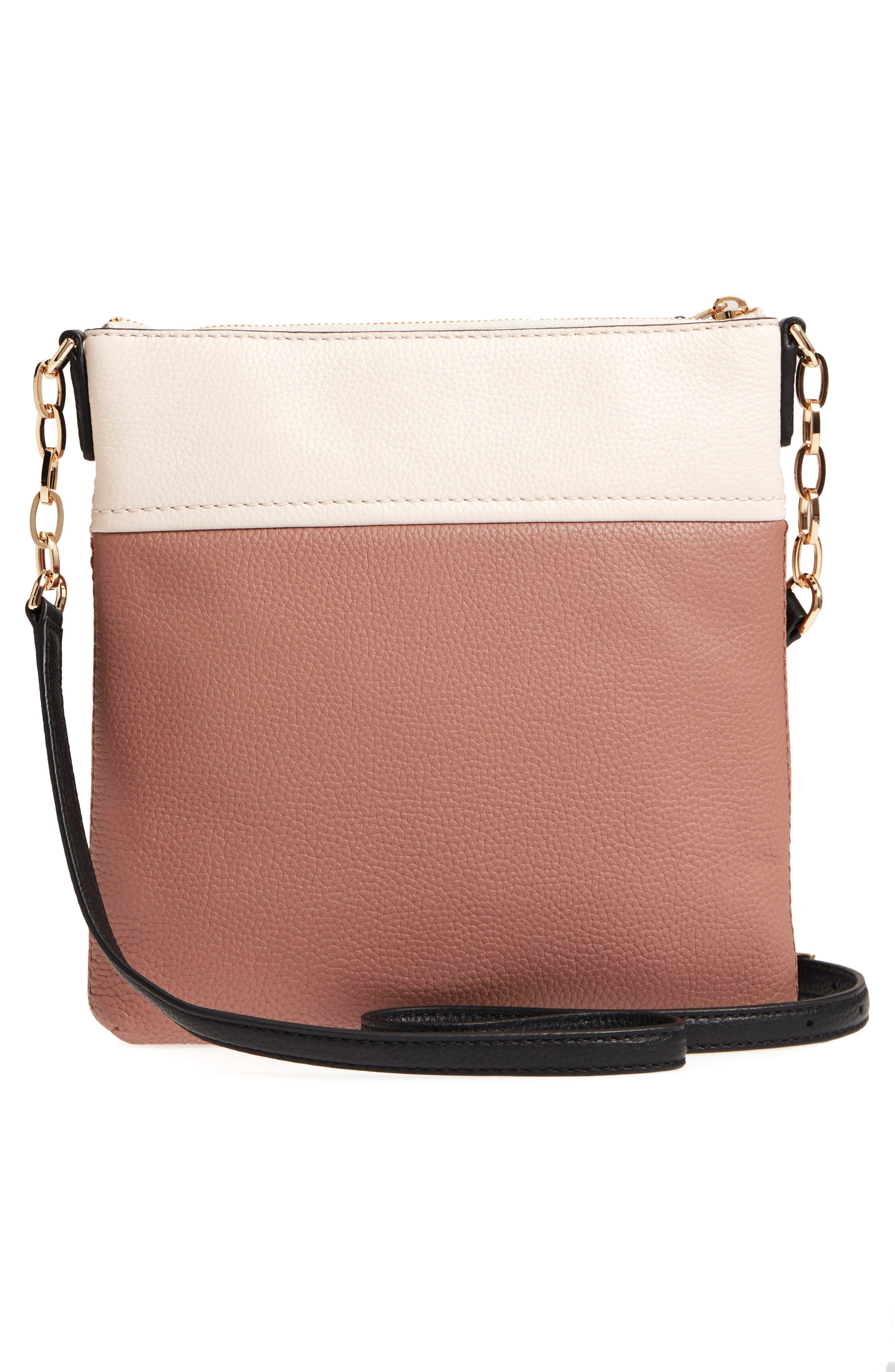 jackson street - melisse crossbody bag,                             Alternate thumbnail 3, color,                             Black/ Toasty Multi
