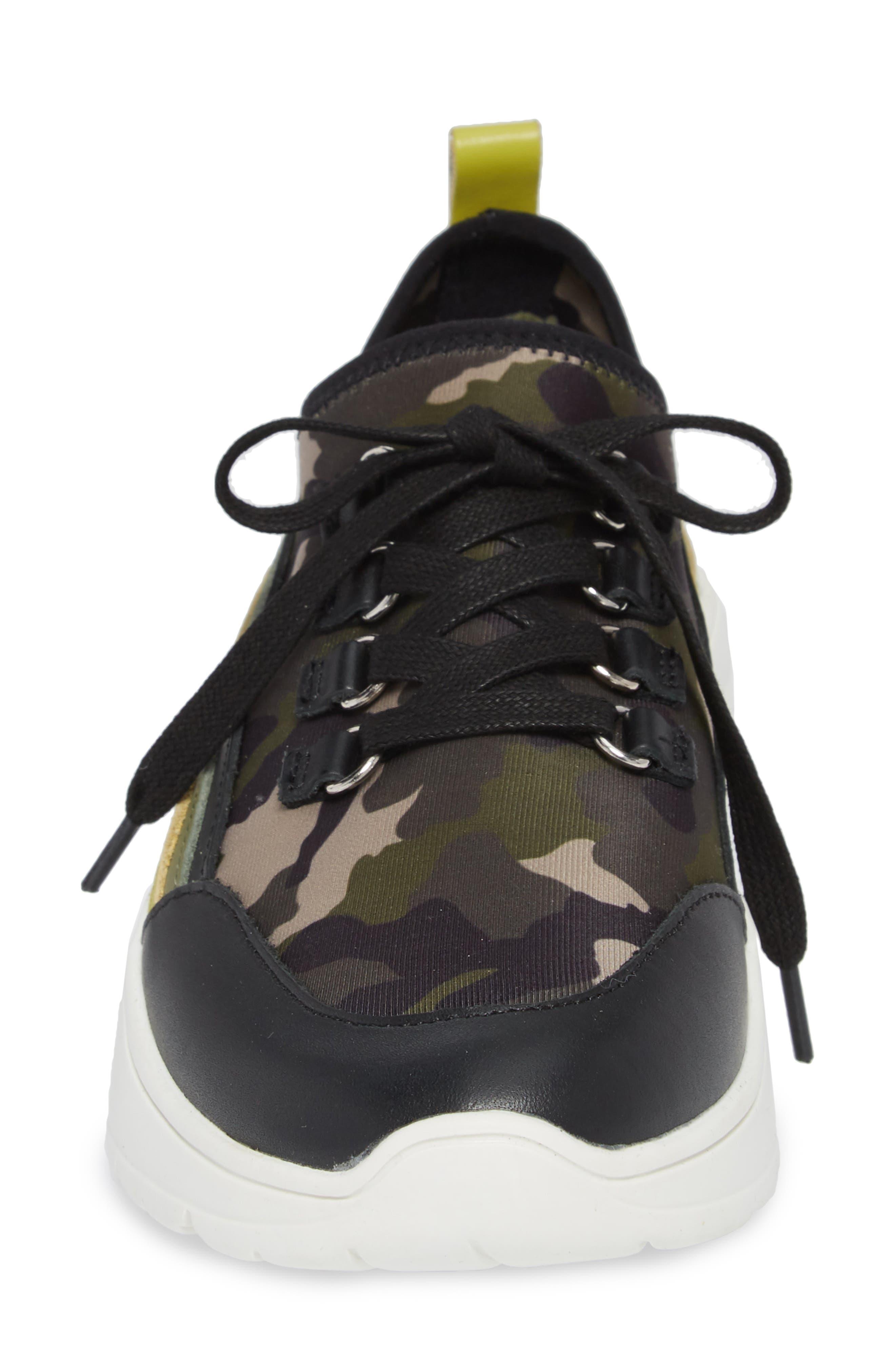 Cavo Rainbow Sneaker,                             Alternate thumbnail 4, color,                             Camo Multi