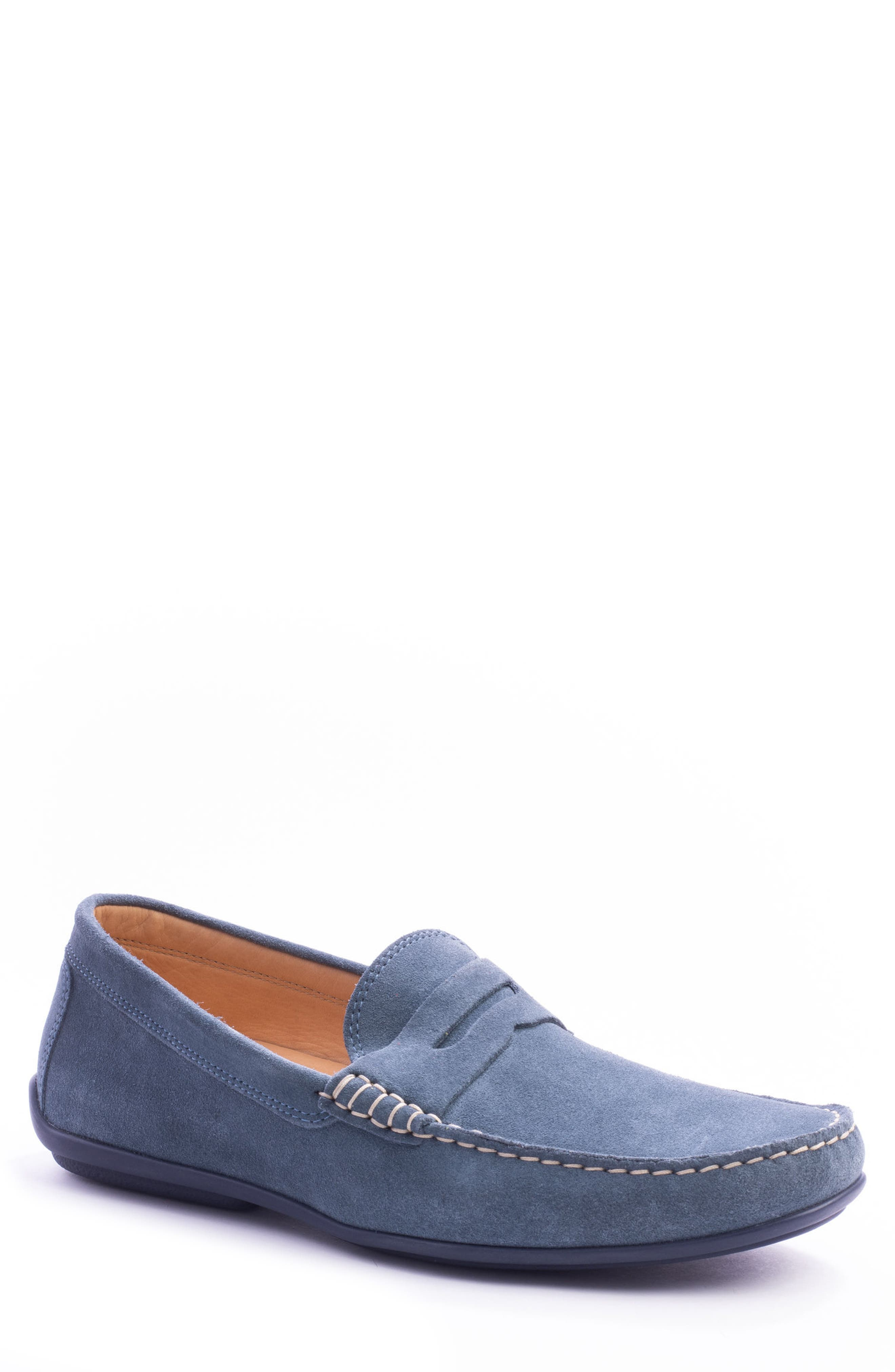 'Parkers' Penny Loafer,                         Main,                         color, Indigo