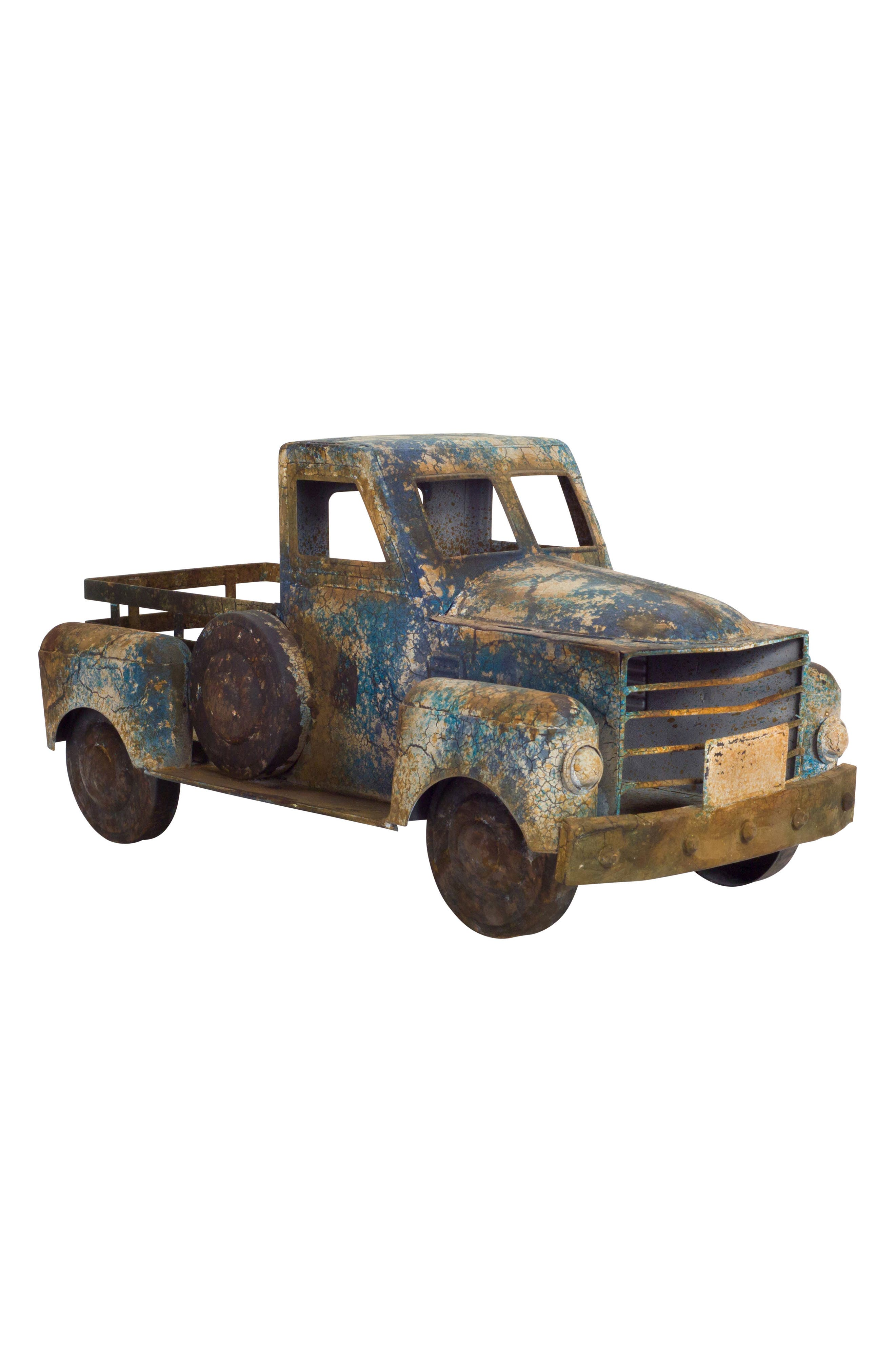 Pickup Truck,                         Main,                         color, Blue