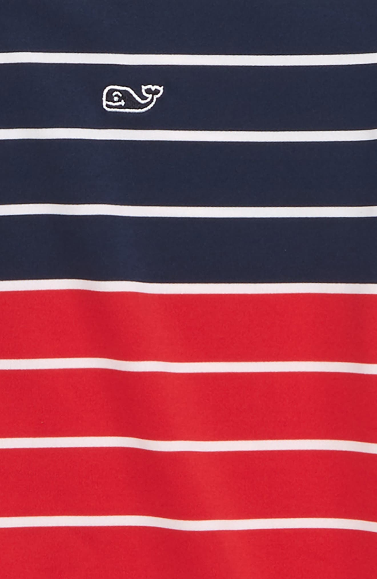 Sankaty Stripe Performance Polo,                             Alternate thumbnail 2, color,                             Deep Bay