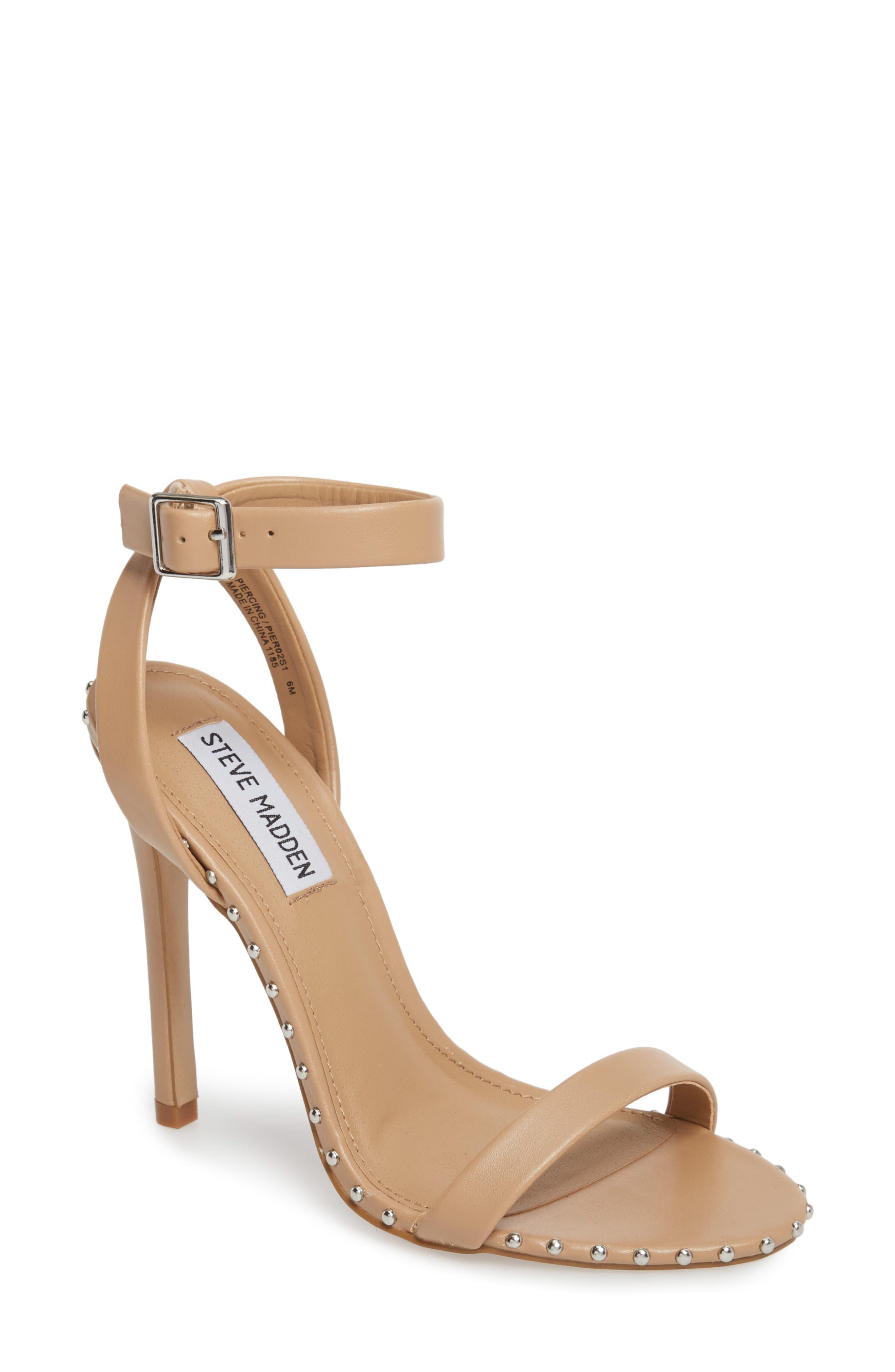 Steve Madden Piercing Studded Sandal (Women)