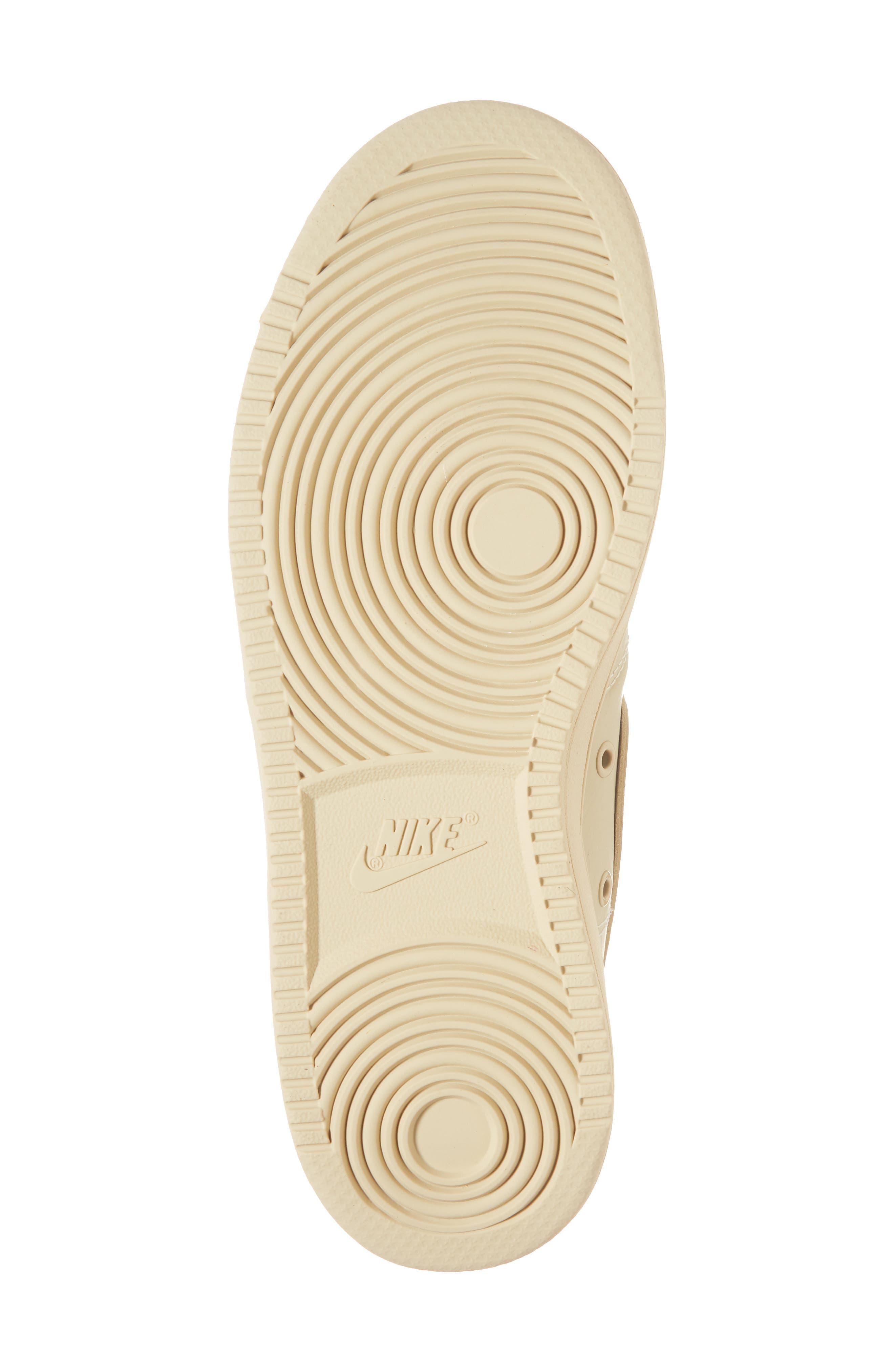 Vandal High Supreme Leather Sneaker,                             Alternate thumbnail 6, color,                             Desert Ore