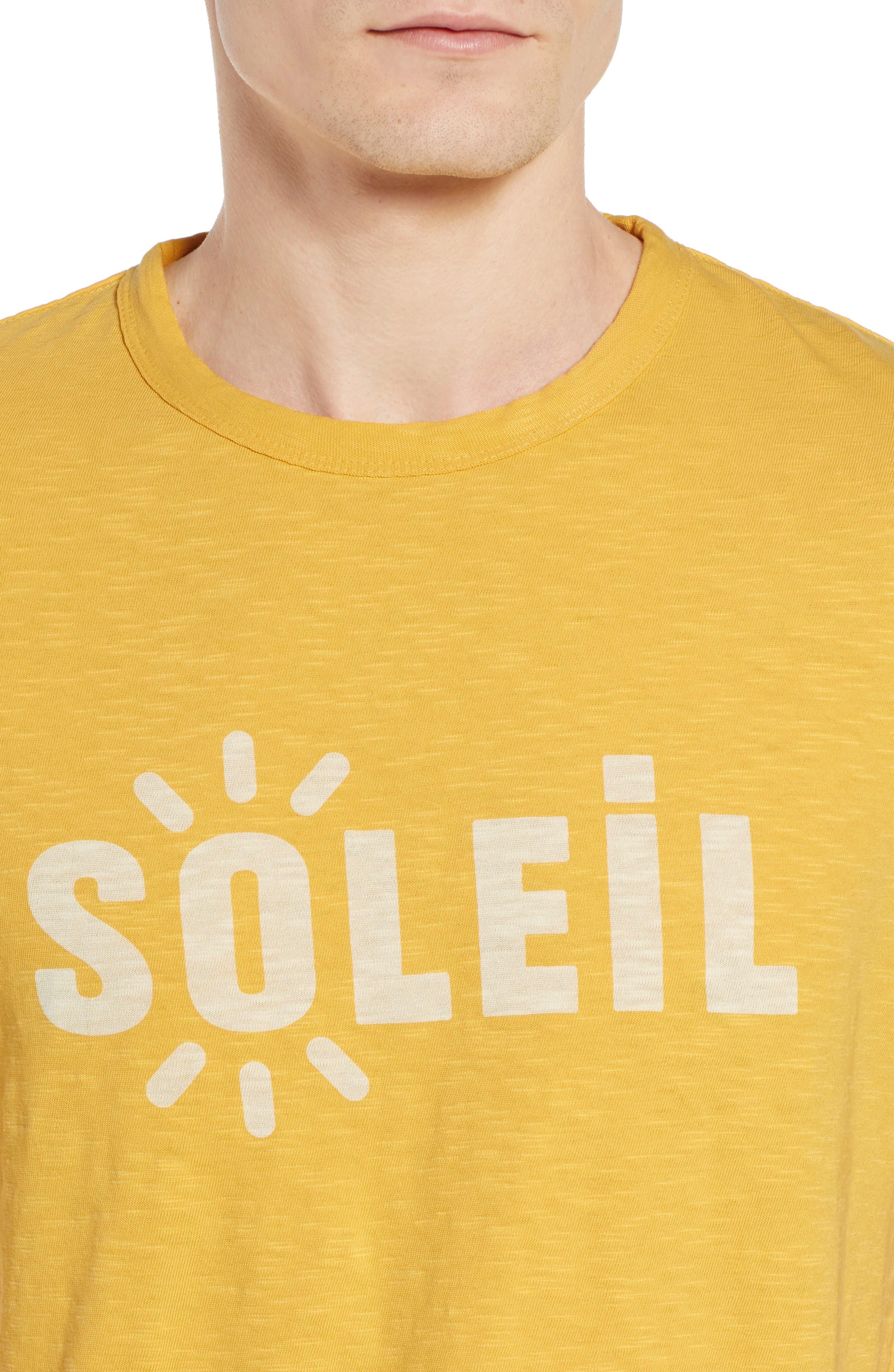 Soleil T-Shirt,                             Alternate thumbnail 3, color,                             Banana