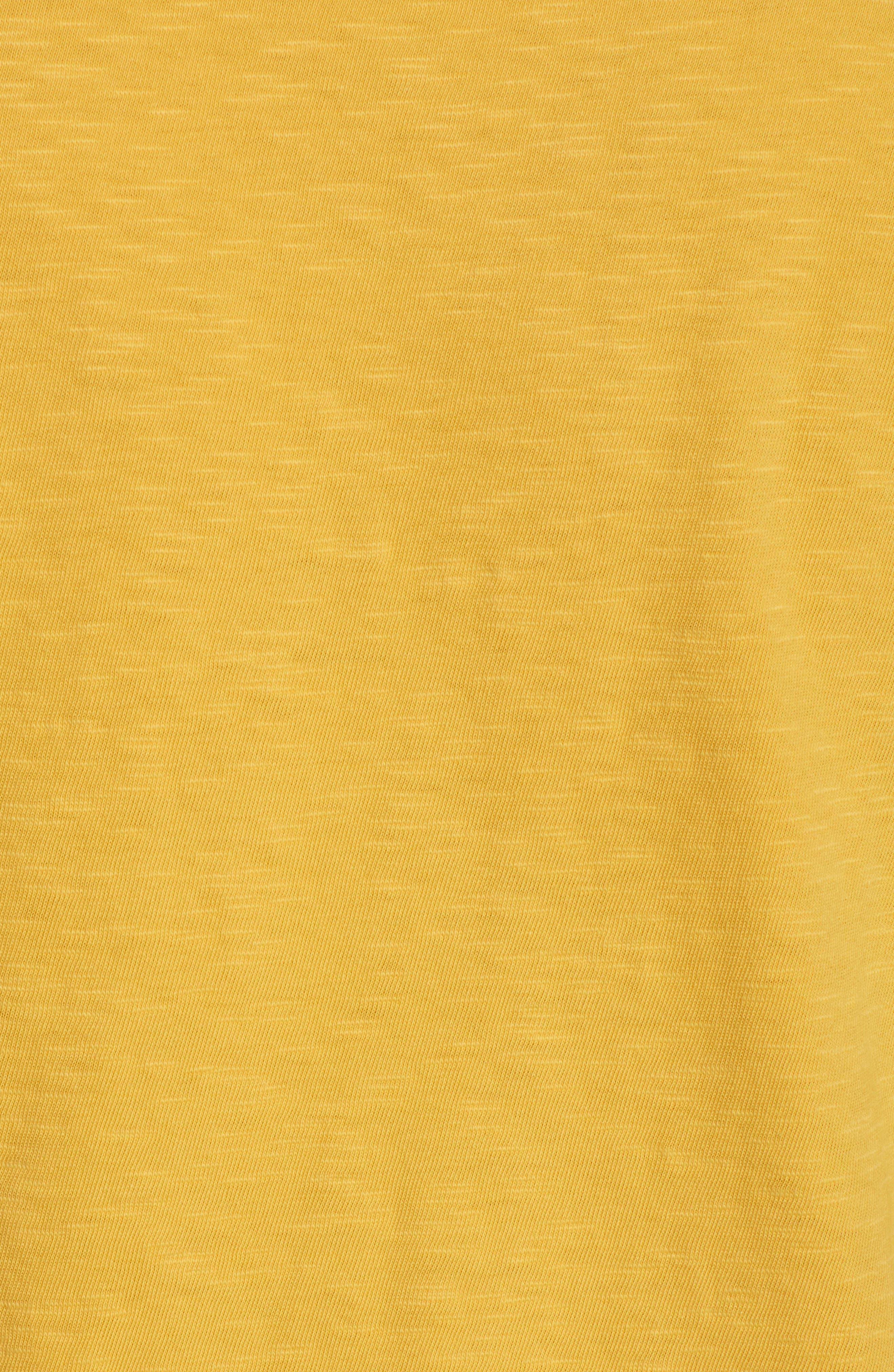 Soleil T-Shirt,                             Alternate thumbnail 5, color,                             Banana