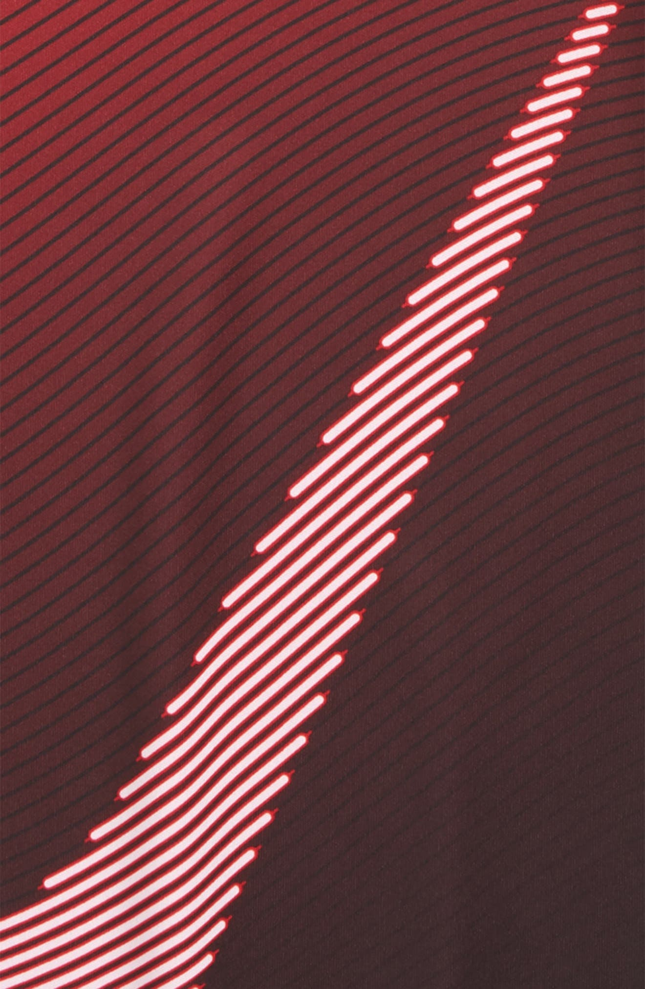 Dry Optical Swoosh T-Shirt,                             Alternate thumbnail 2, color,                             University Red