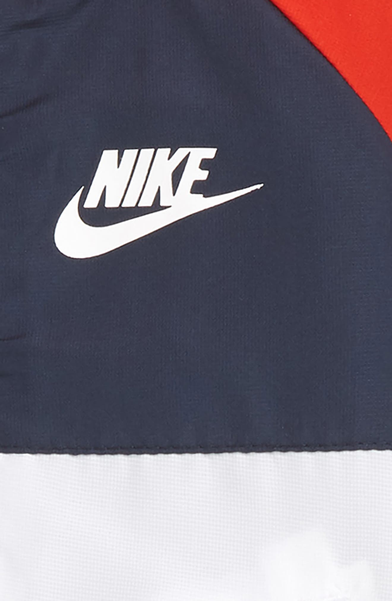 Hooded Windbreaker Jacket & Pants Set,                             Alternate thumbnail 2, color,                             Thunder Blue