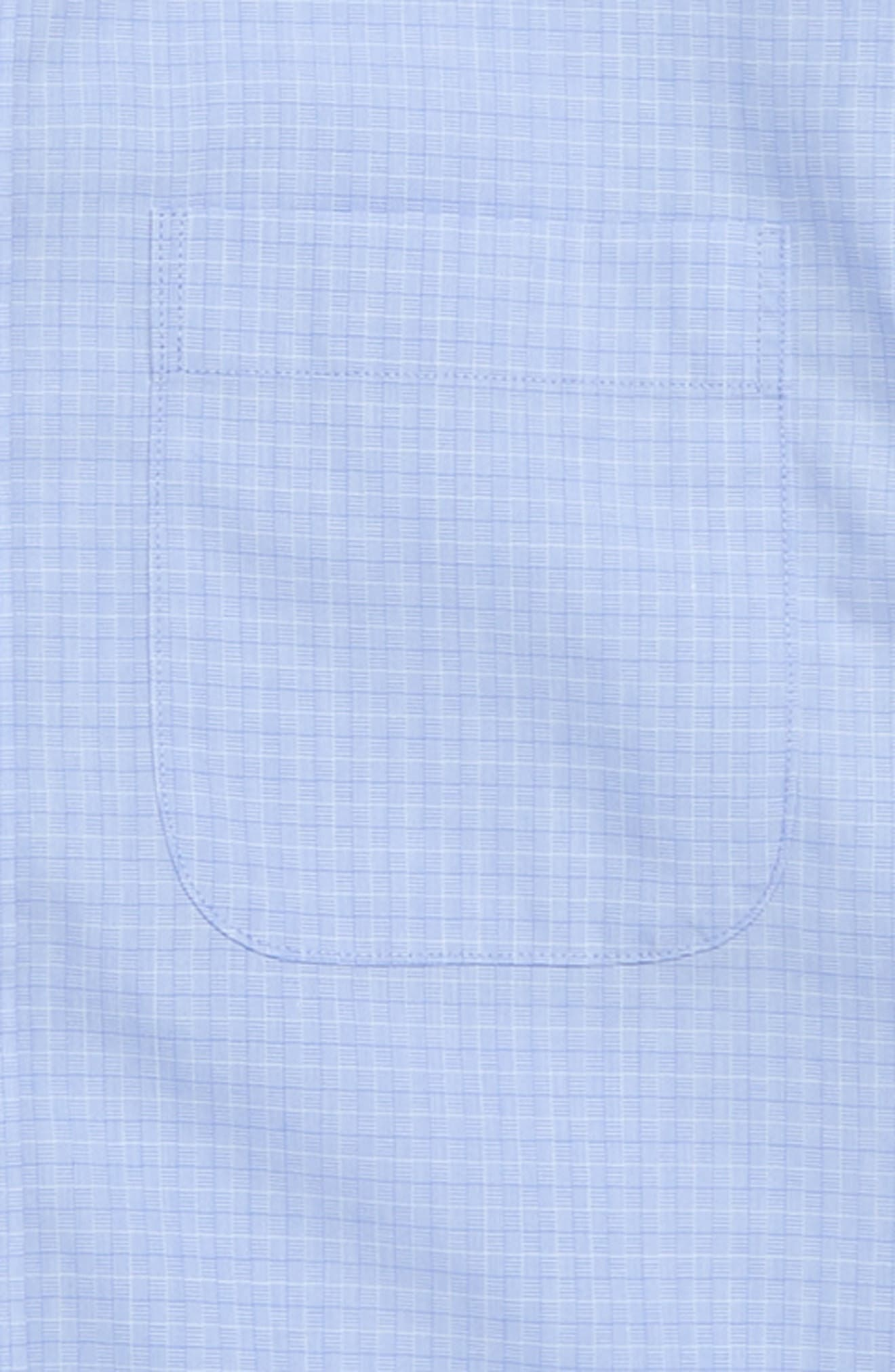 Dobby Checks Dress Shirt,                             Alternate thumbnail 2, color,                             Blue Lustre Dobby