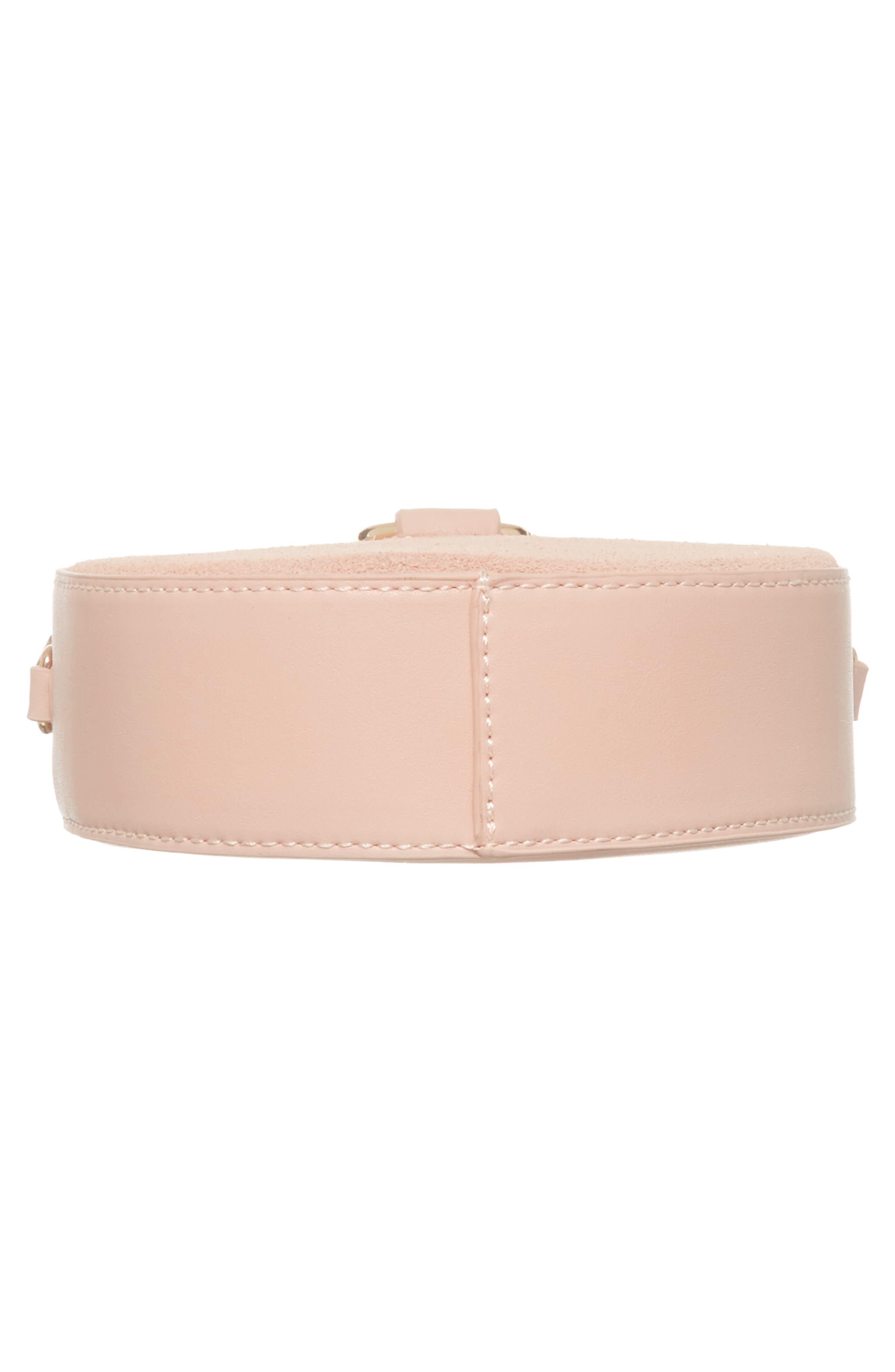 Circle Bag with Wristlet,                             Alternate thumbnail 6, color,                             Tan