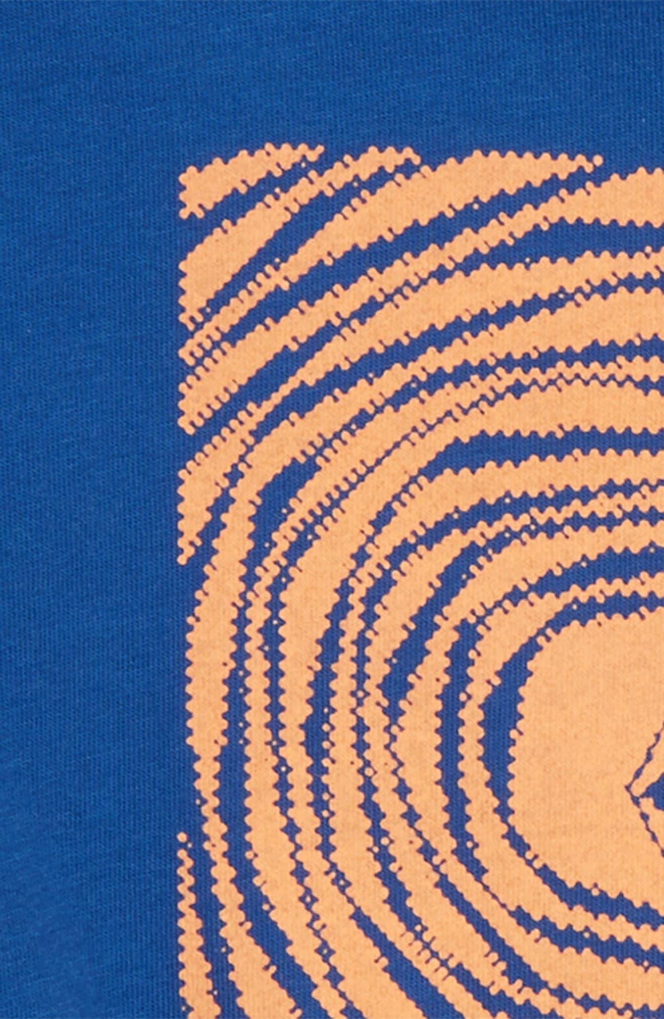 Engulf Graphic T-Shirt,                             Alternate thumbnail 2, color,                             Camper Blue