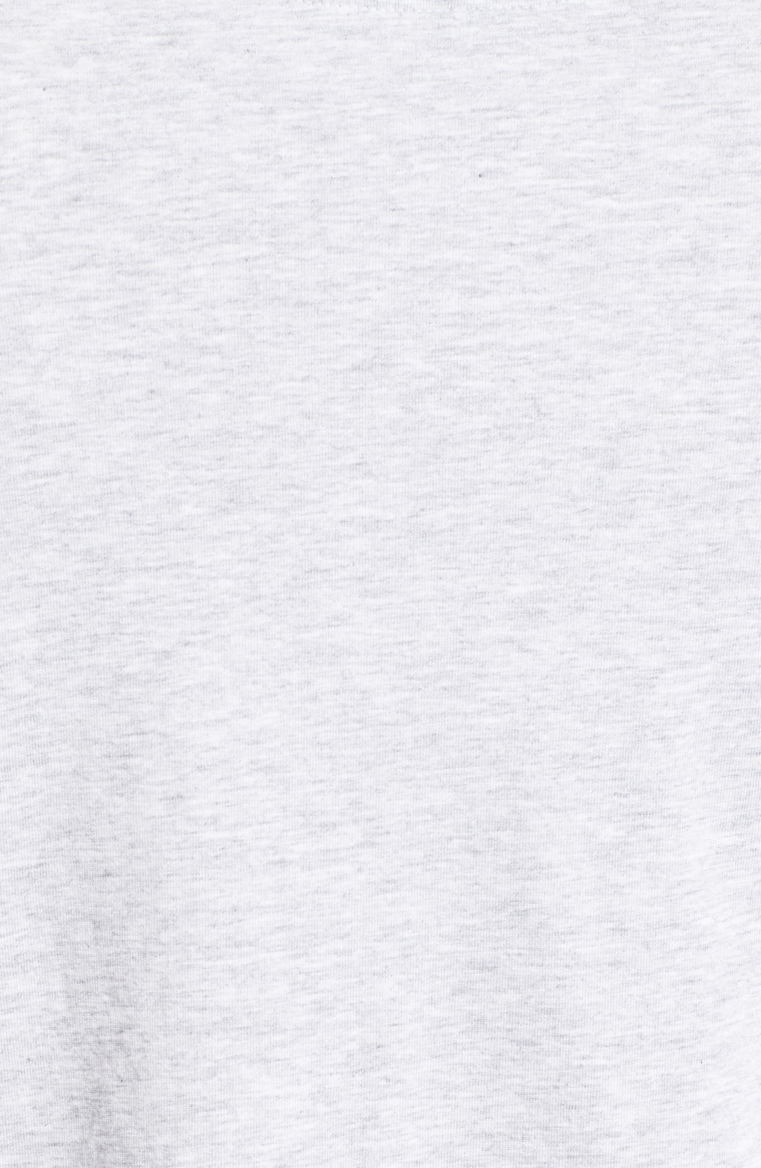 New Bali Skyline T-Shirt,                             Alternate thumbnail 5, color,                             Zinc Gray Heather